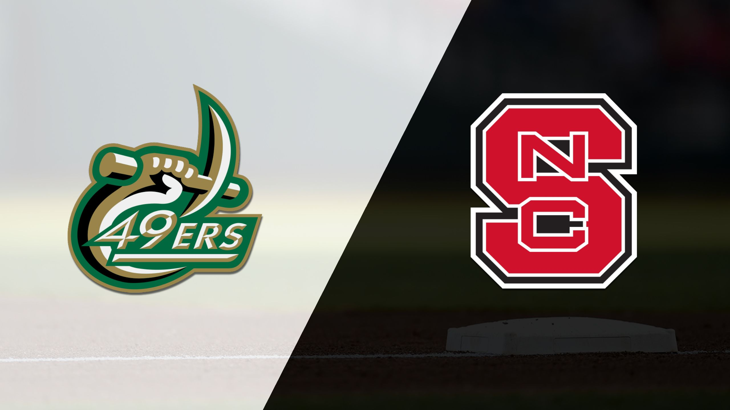 UNC Charlotte vs. #25 NC State (Baseball)