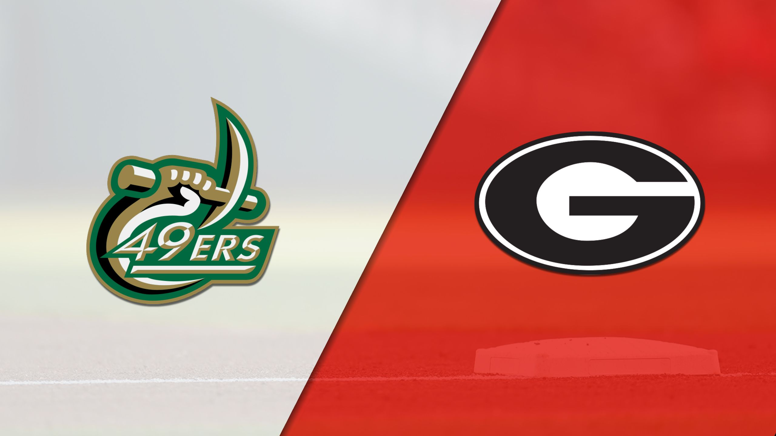 UNC Charlotte vs. Georgia (Baseball)