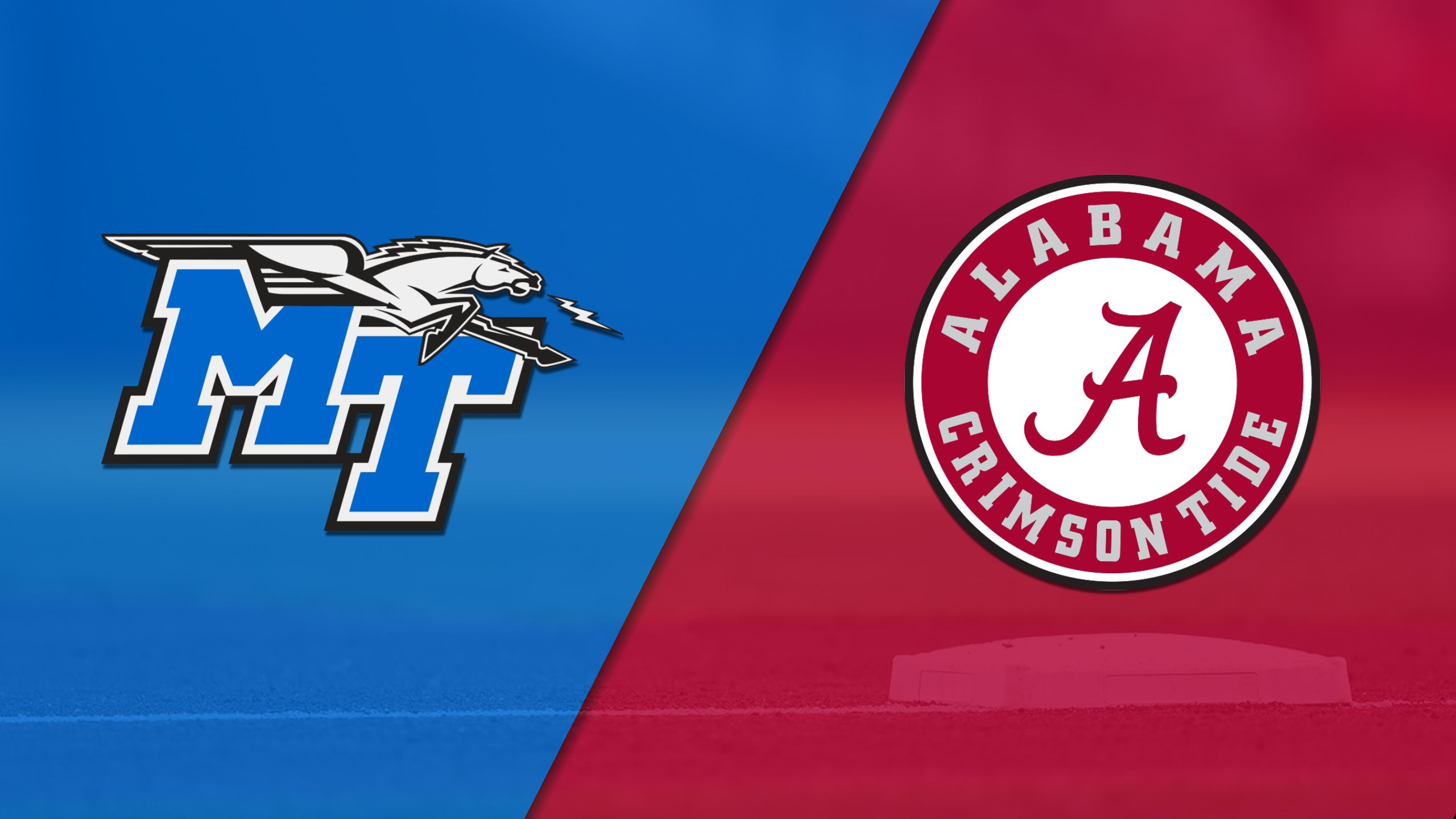 Middle Tennessee State vs. Alabama (Baseball)