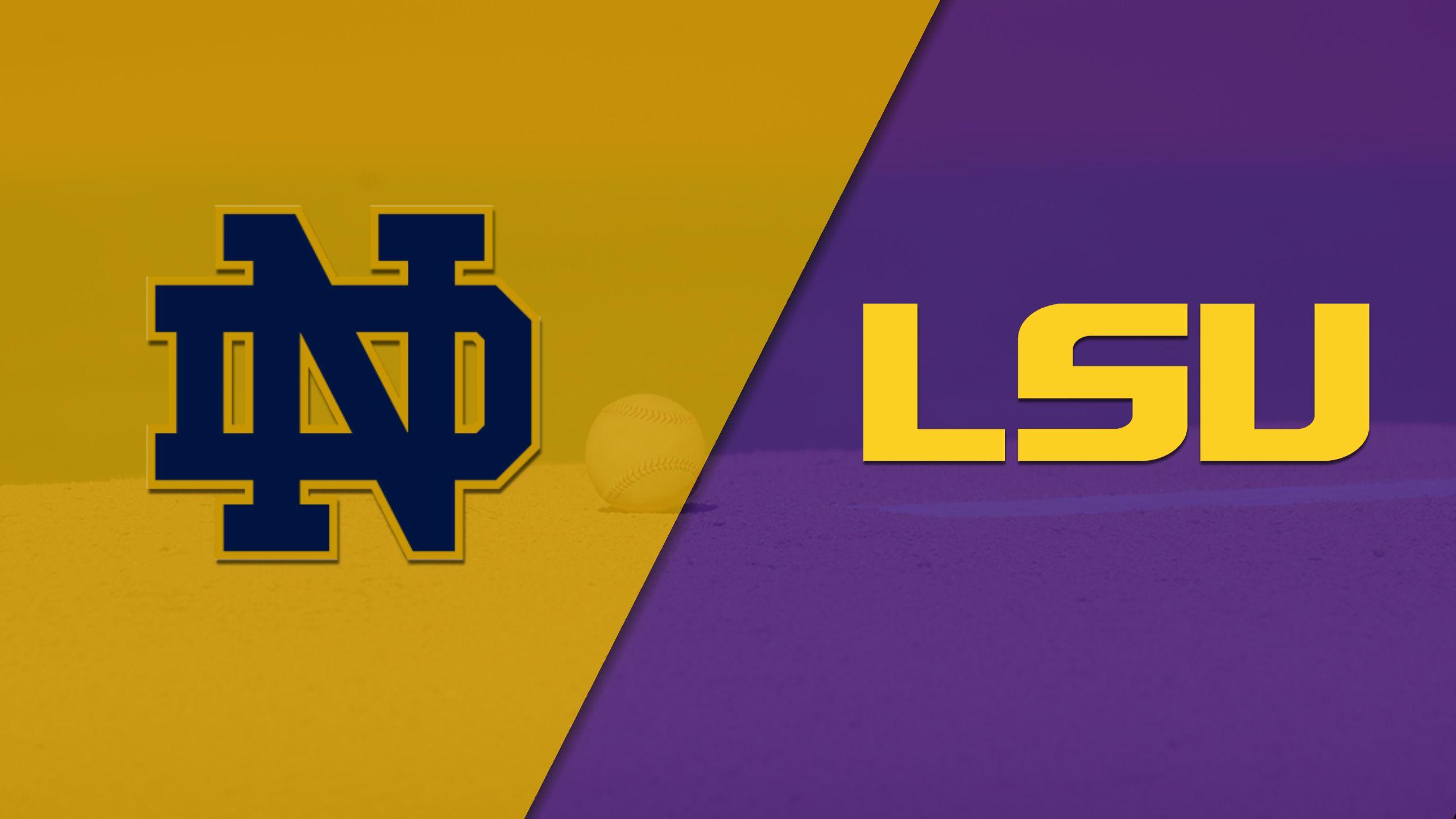 Notre Dame vs. #9 LSU (Baseball)