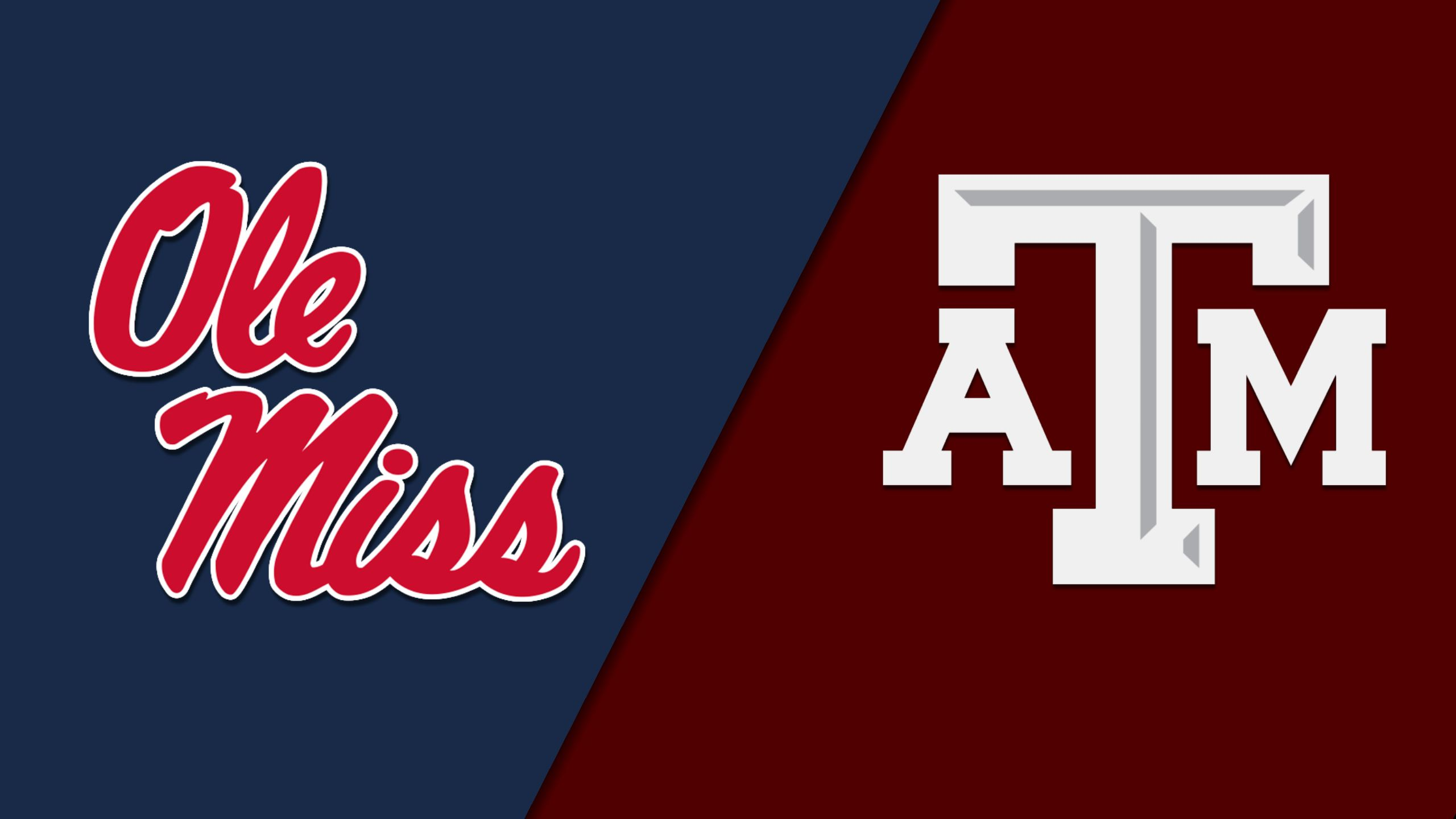 #5 Ole Miss vs. #12 Texas A&M (Baseball) (re-air)