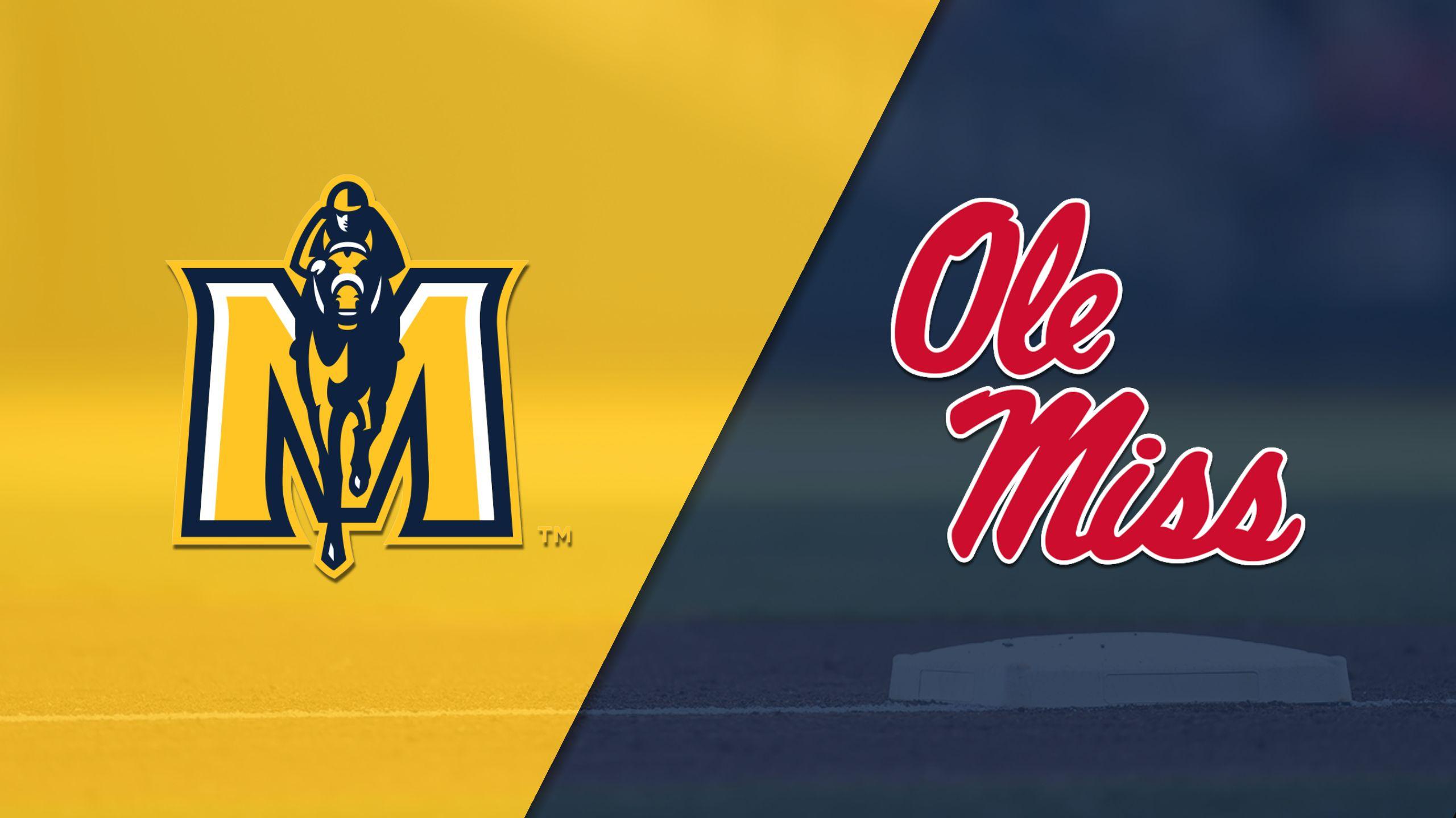 Murray State vs. #19 Ole Miss (Baseball)