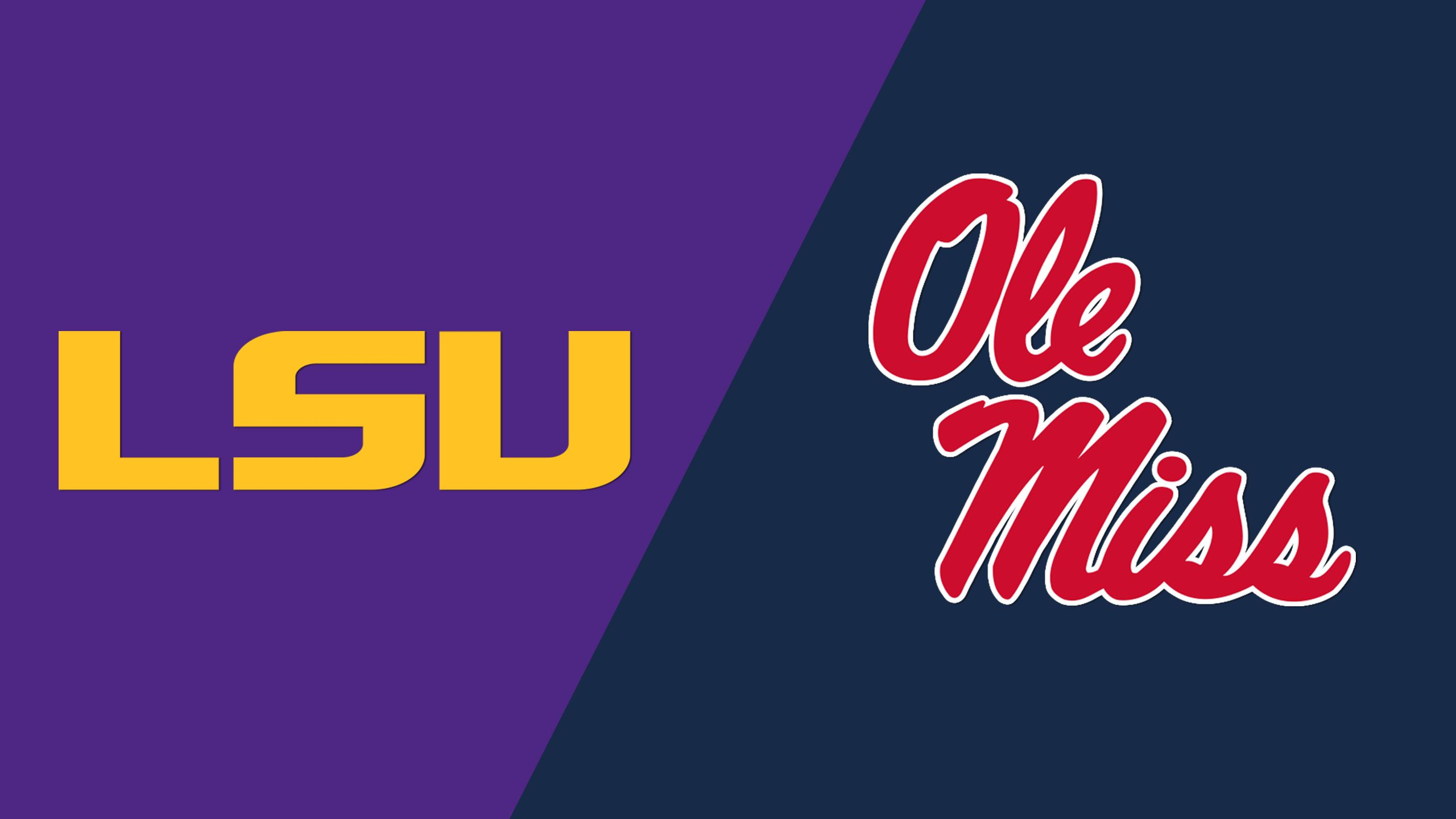 LSU vs. #6 Ole Miss (Baseball) (re-air)