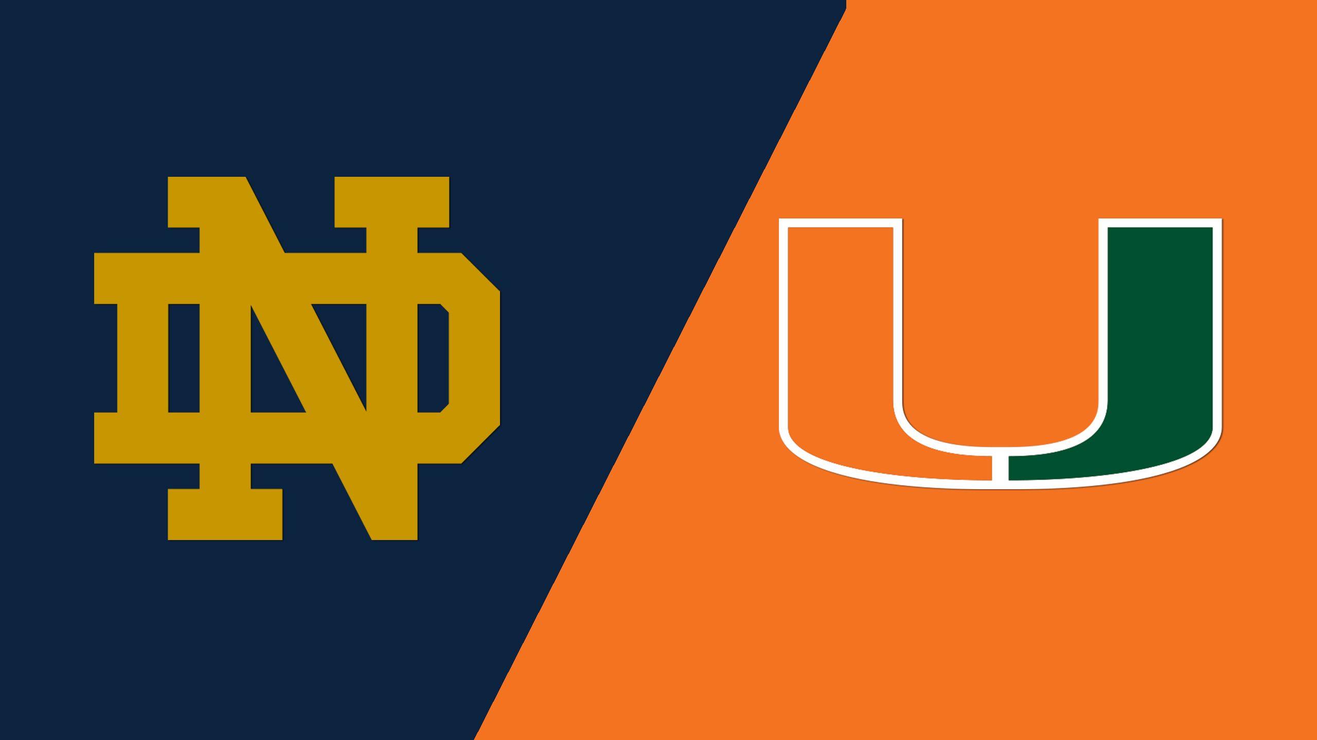 Notre Dame vs. Miami (Baseball)