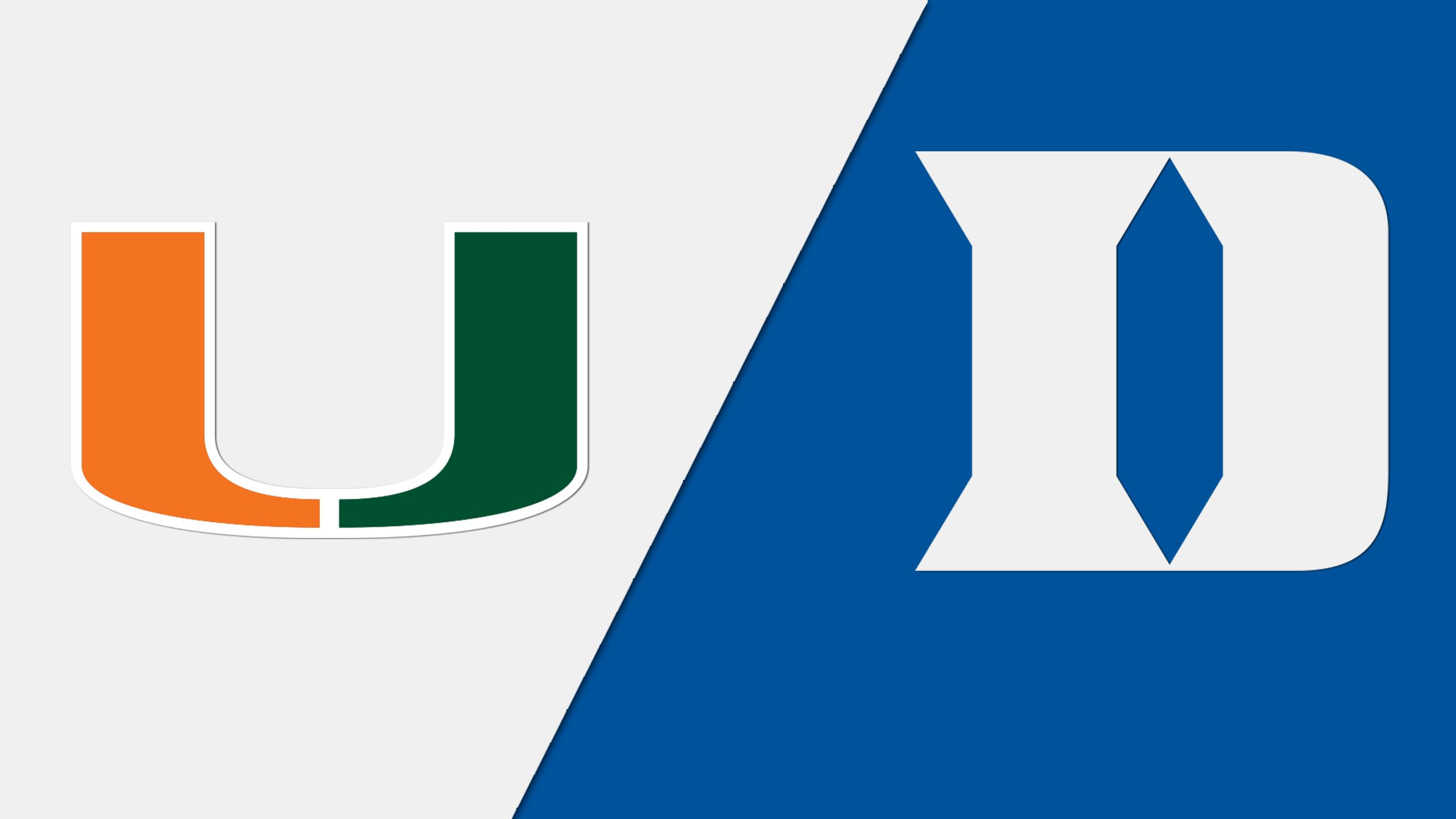 Miami vs. #23 Duke (Baseball)
