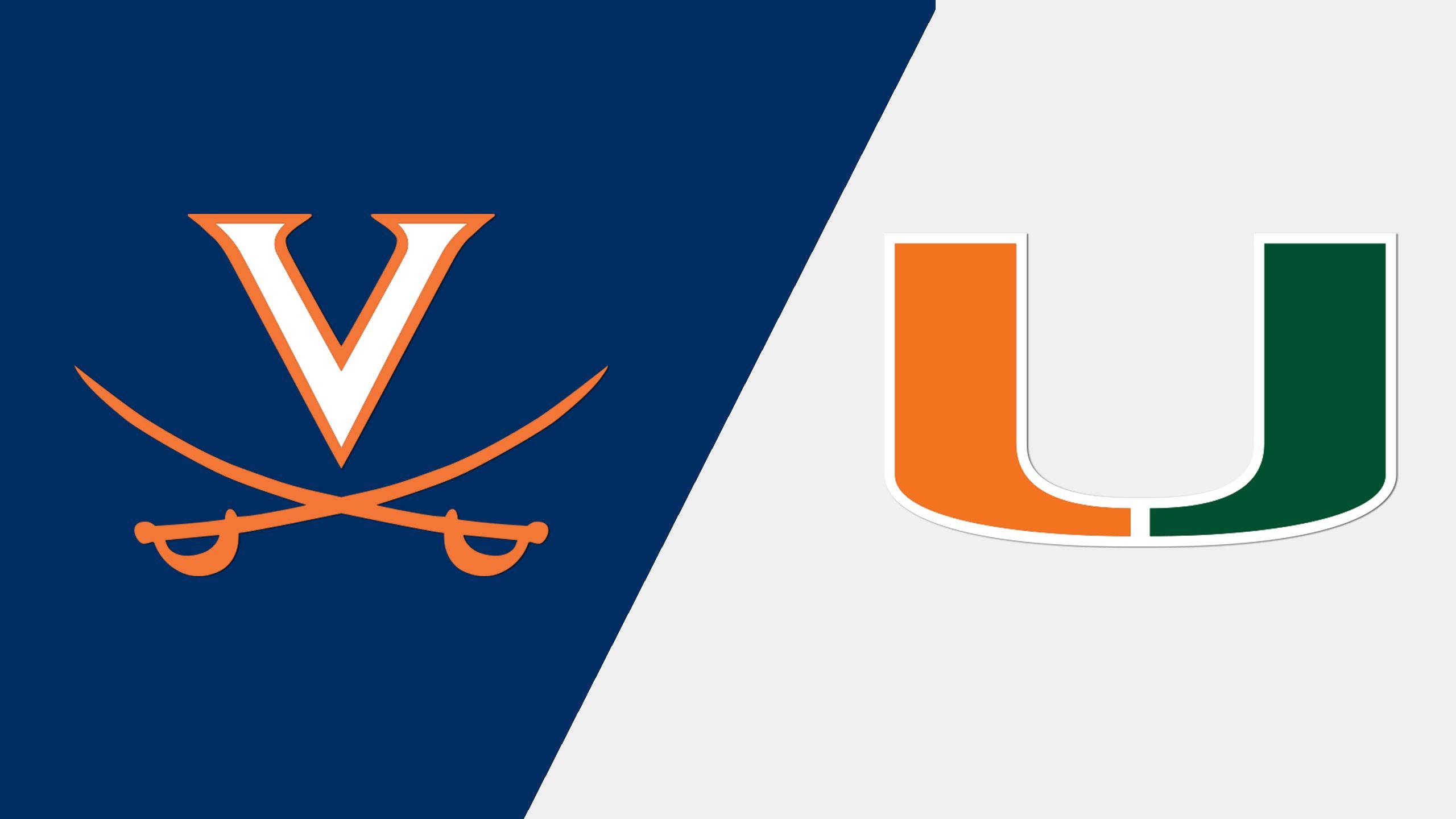 #24 Virginia vs. Miami (Baseball)