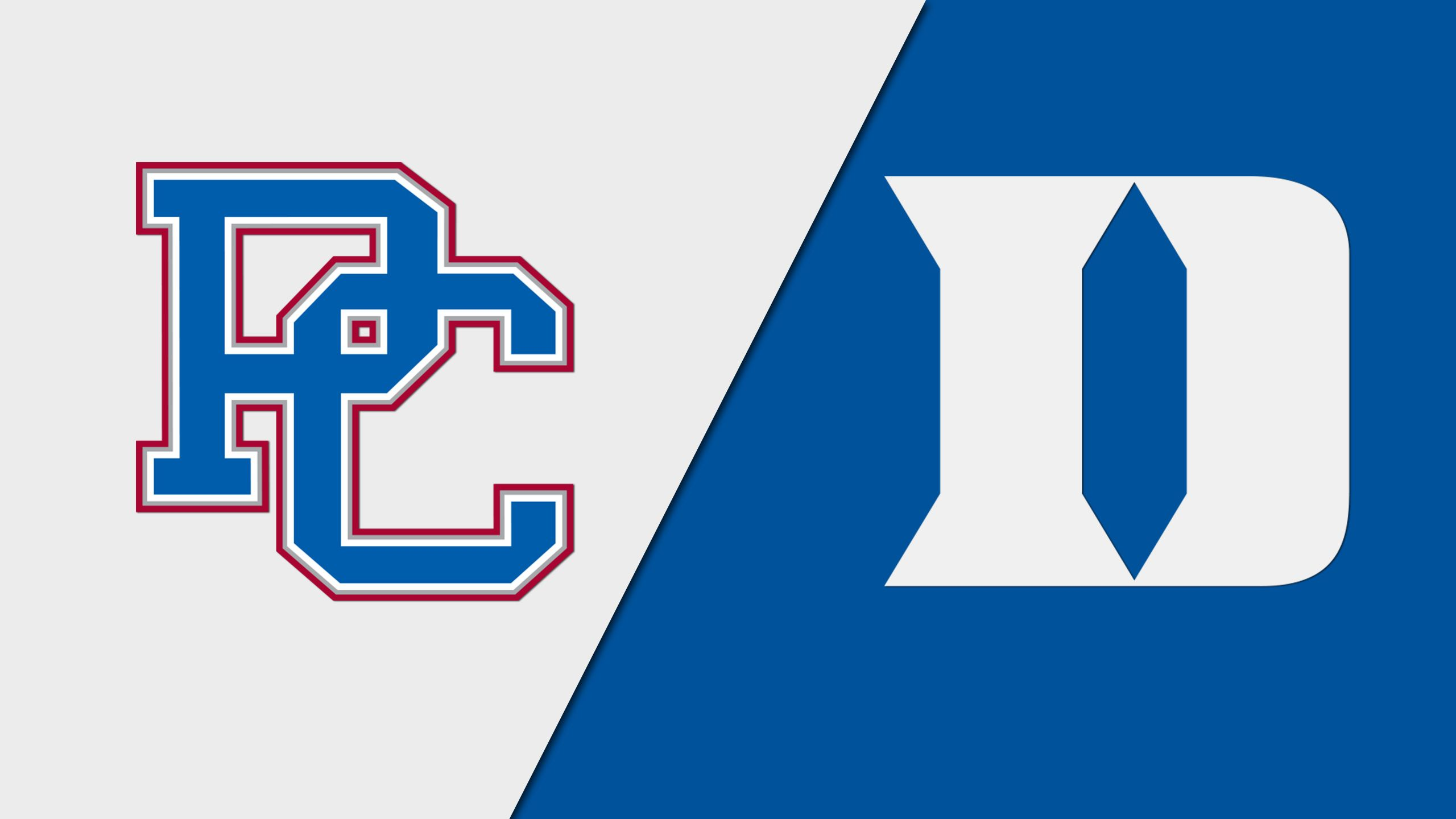 Presbyterian vs. #19 Duke (Baseball)
