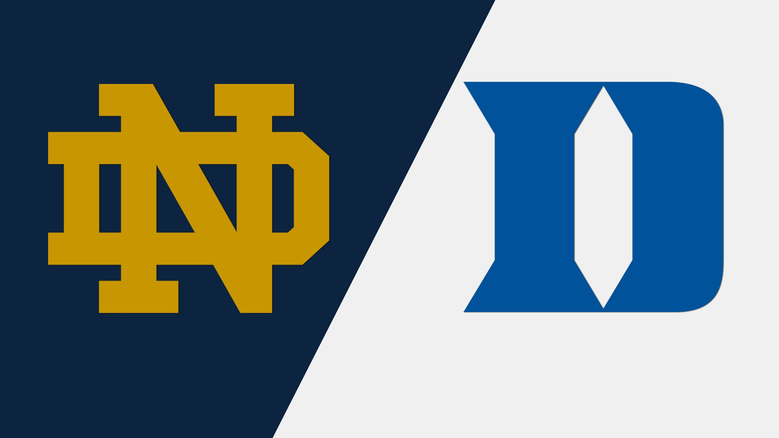 Notre Dame vs. #19 Duke (Baseball)