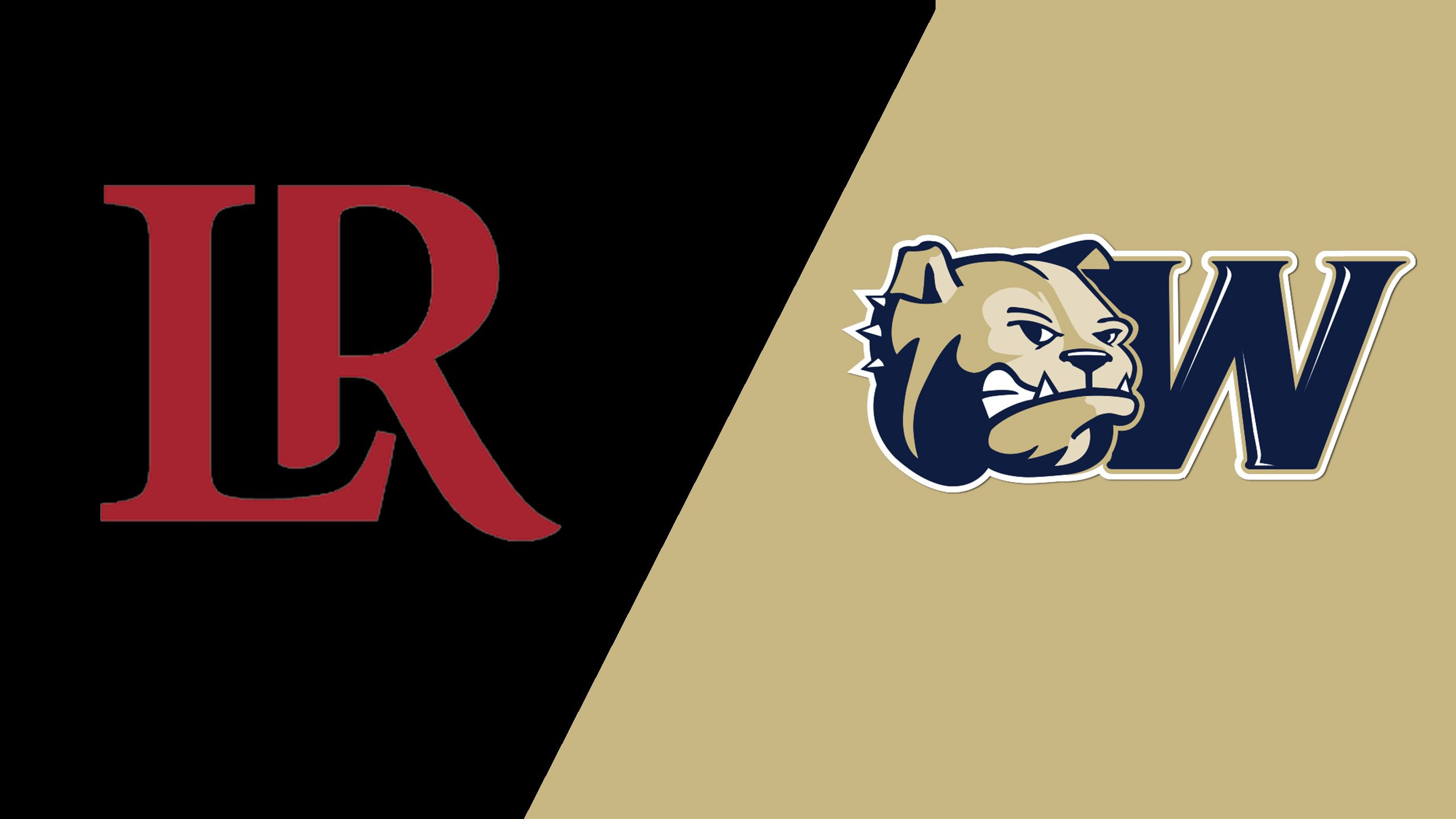 Lenoir-Rhyne vs. Wingate (Baseball)
