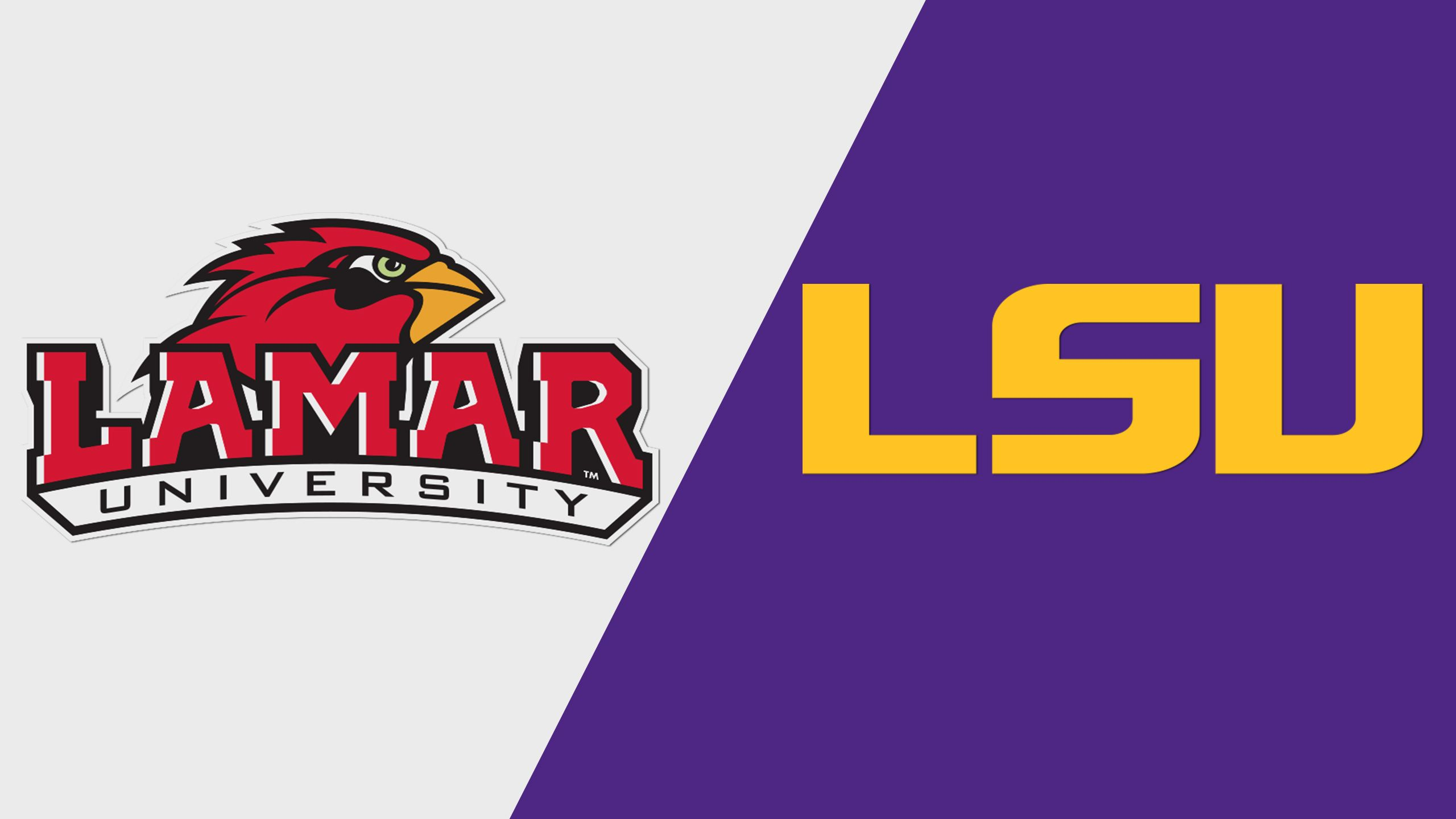 Lamar vs. LSU (Baseball)