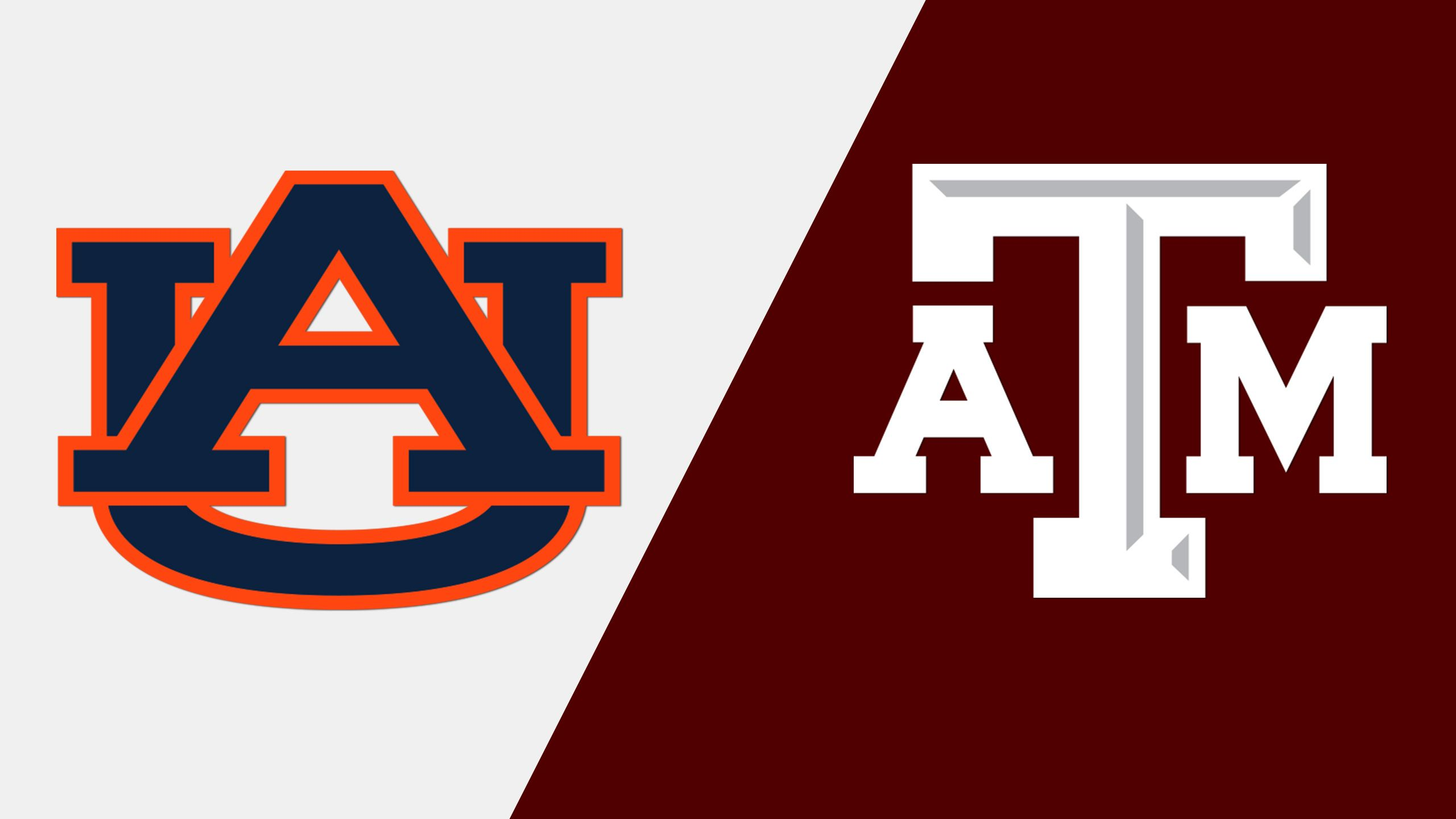 Auburn vs. Texas A&M (Third Round) (SEC Baseball Tournament) (re-air)