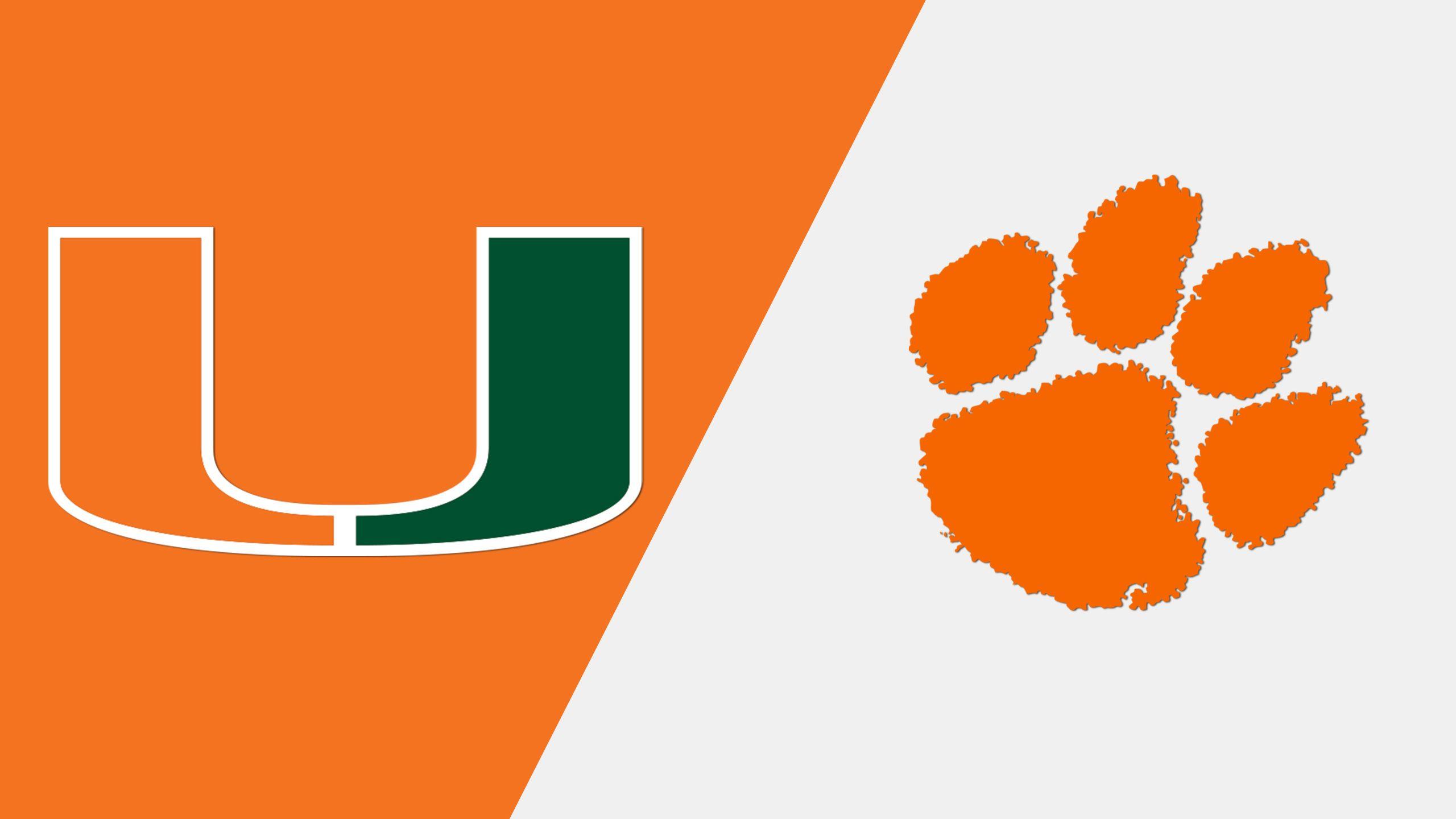 Miami vs. #8 Clemson (Baseball)