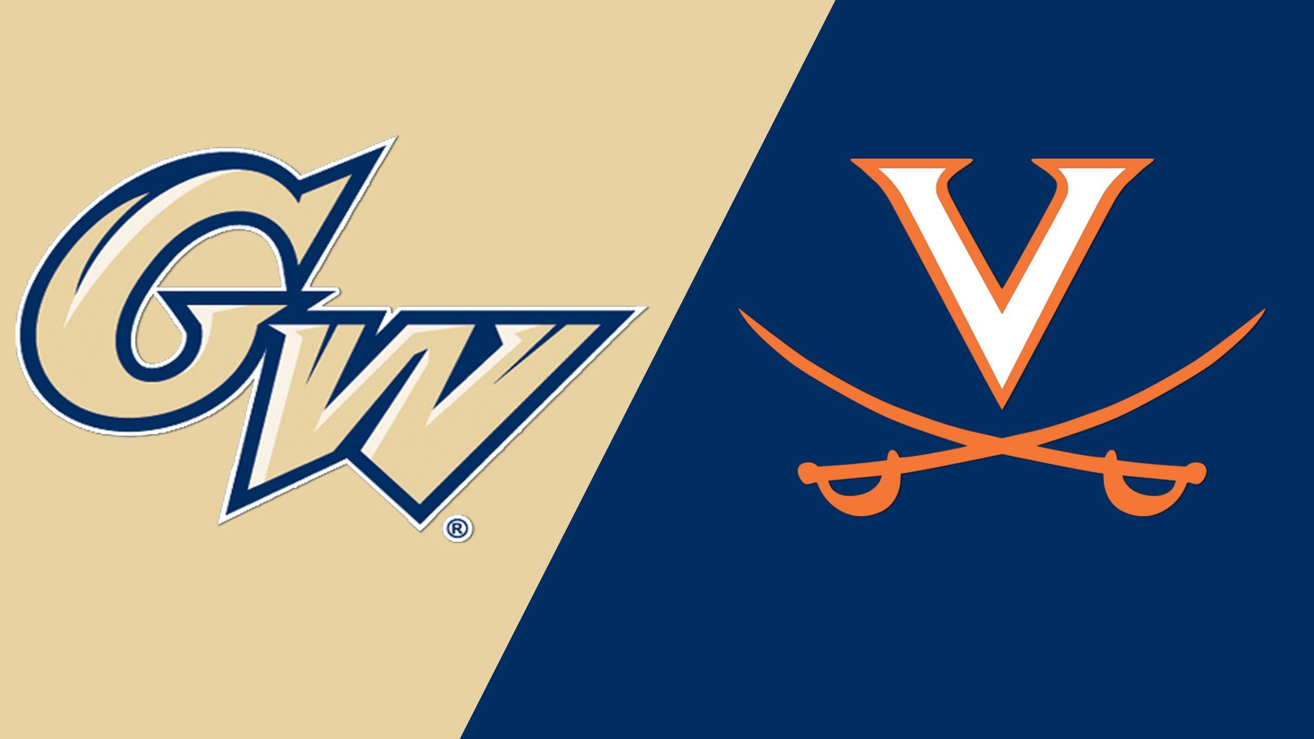 George Washington vs. Virginia (Baseball)
