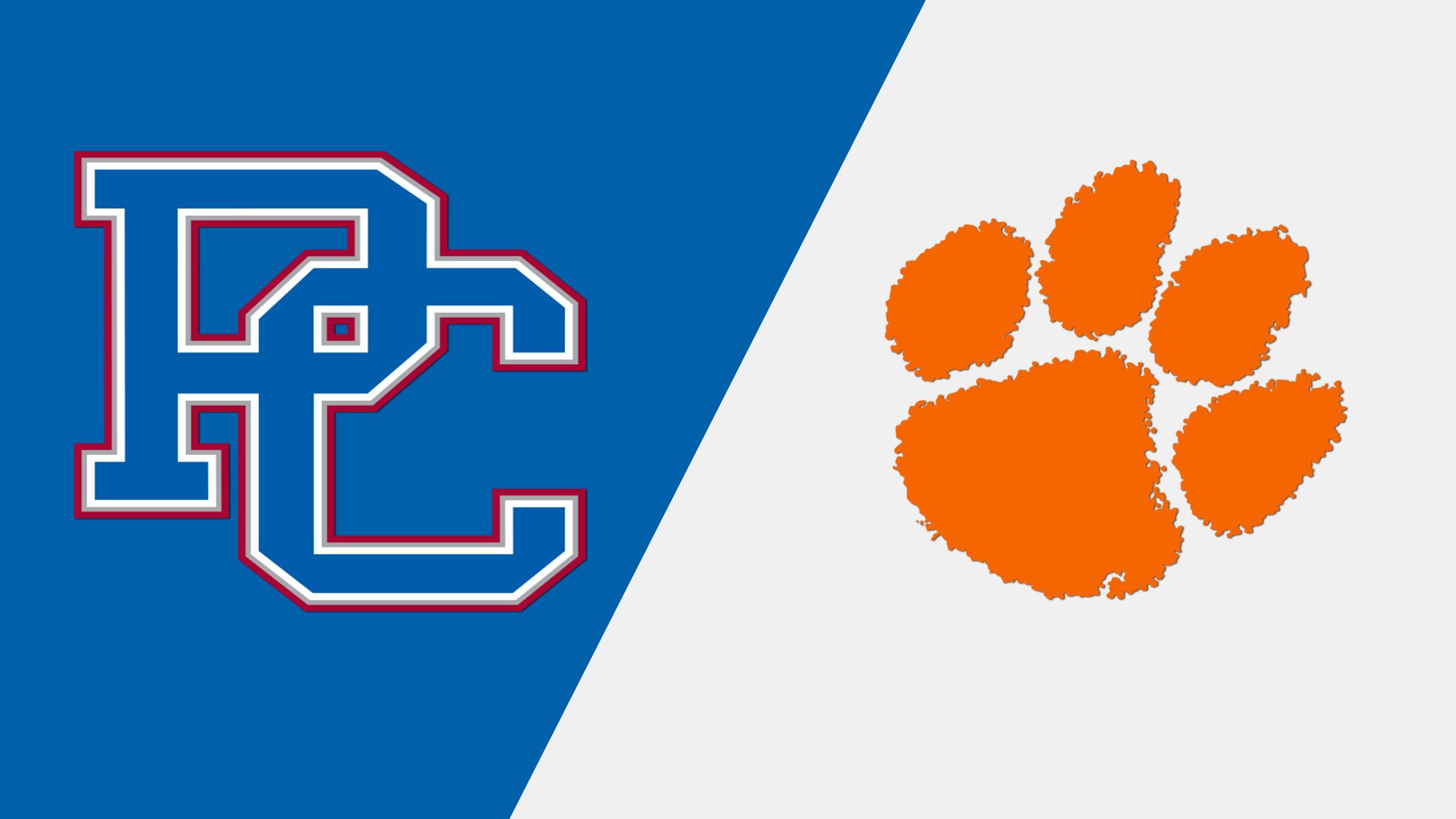 Presbyterian vs. #10 Clemson (Baseball)