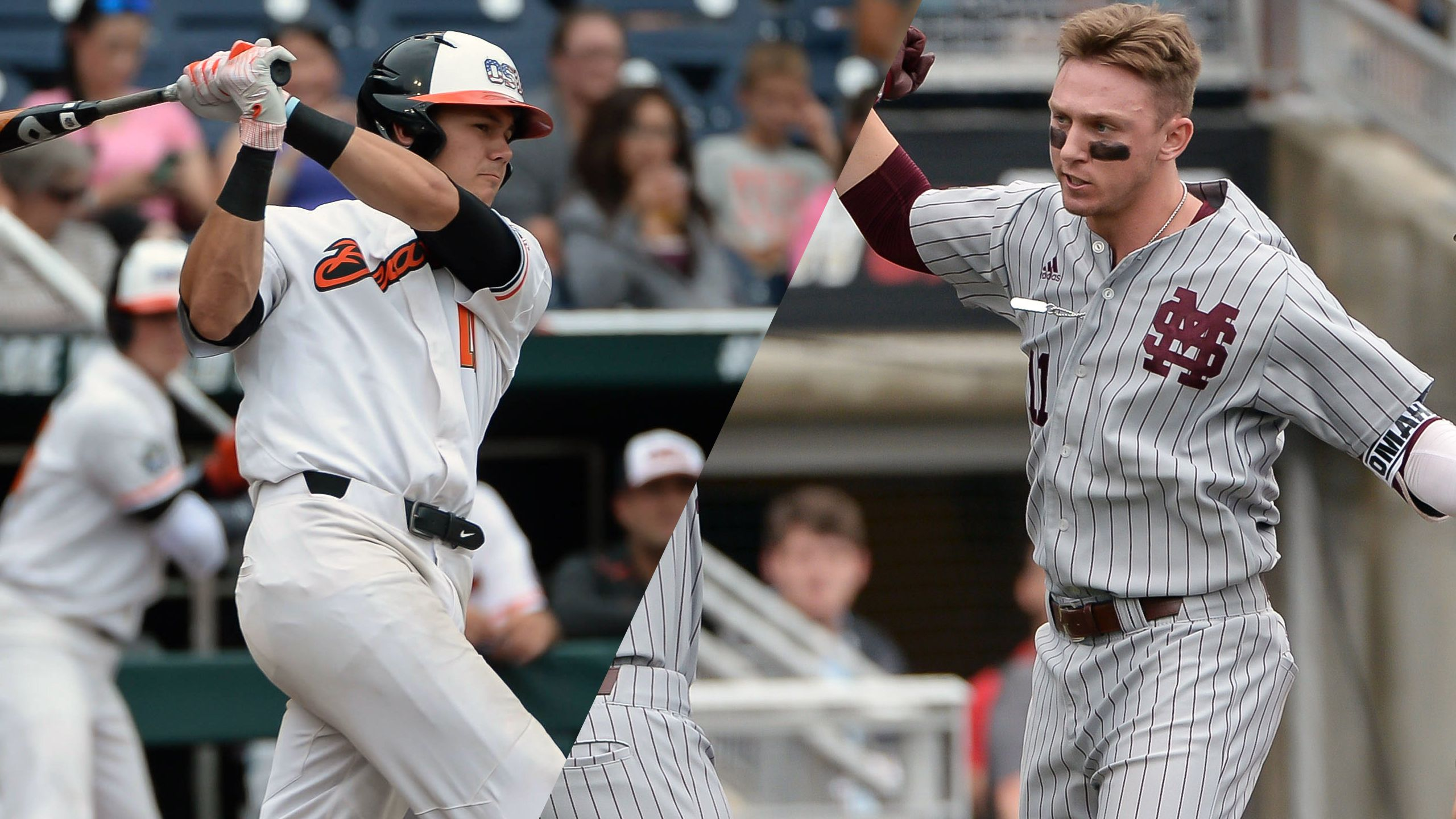 #3 Oregon State vs. Mississippi State (Game 14) (College World Series) (re-air)