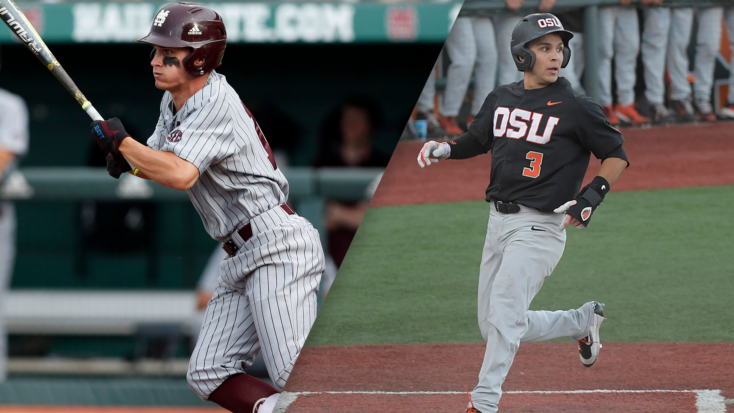 Mississippi State vs. #3 Oregon State (Game 11) (College World Series) (re-air)