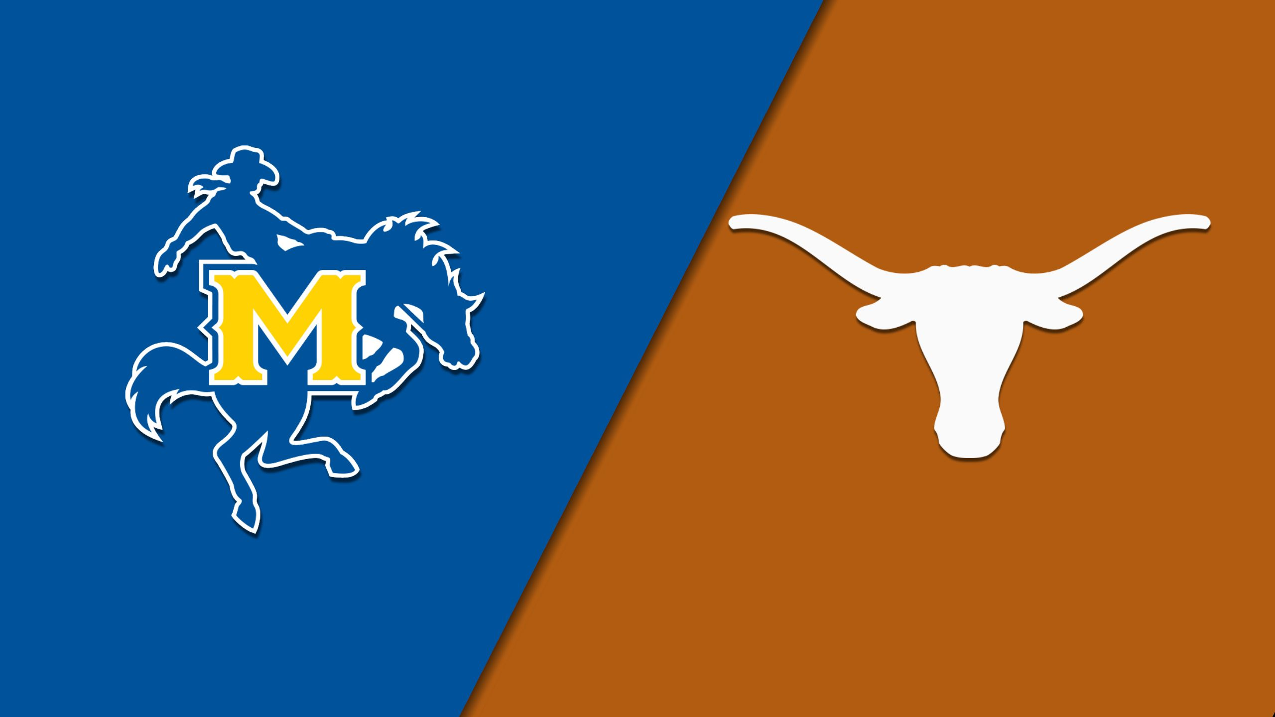 McNeese vs. Texas (Baseball) (re-air)