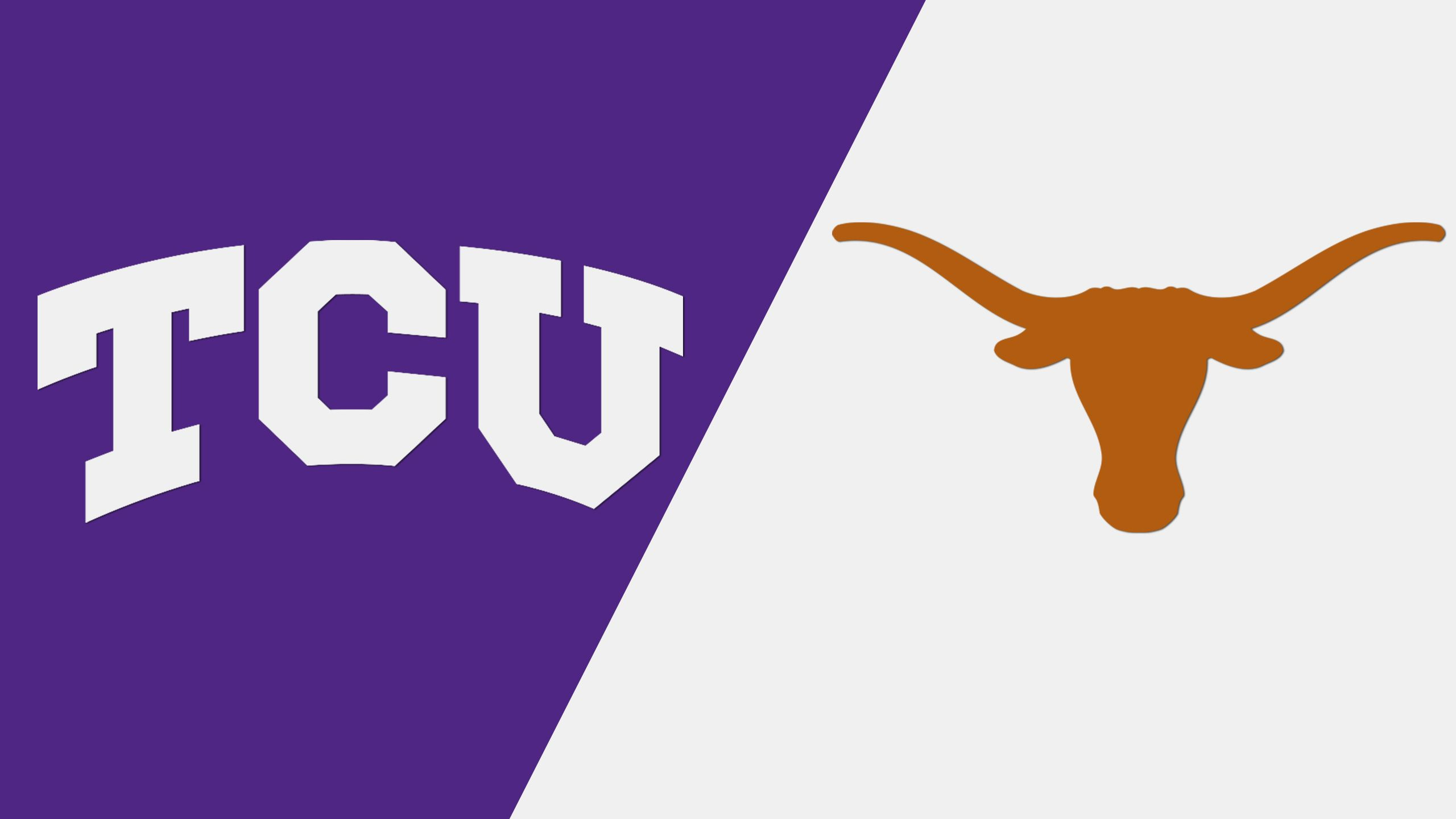 TCU vs. #16 Texas (Baseball) (re-air)
