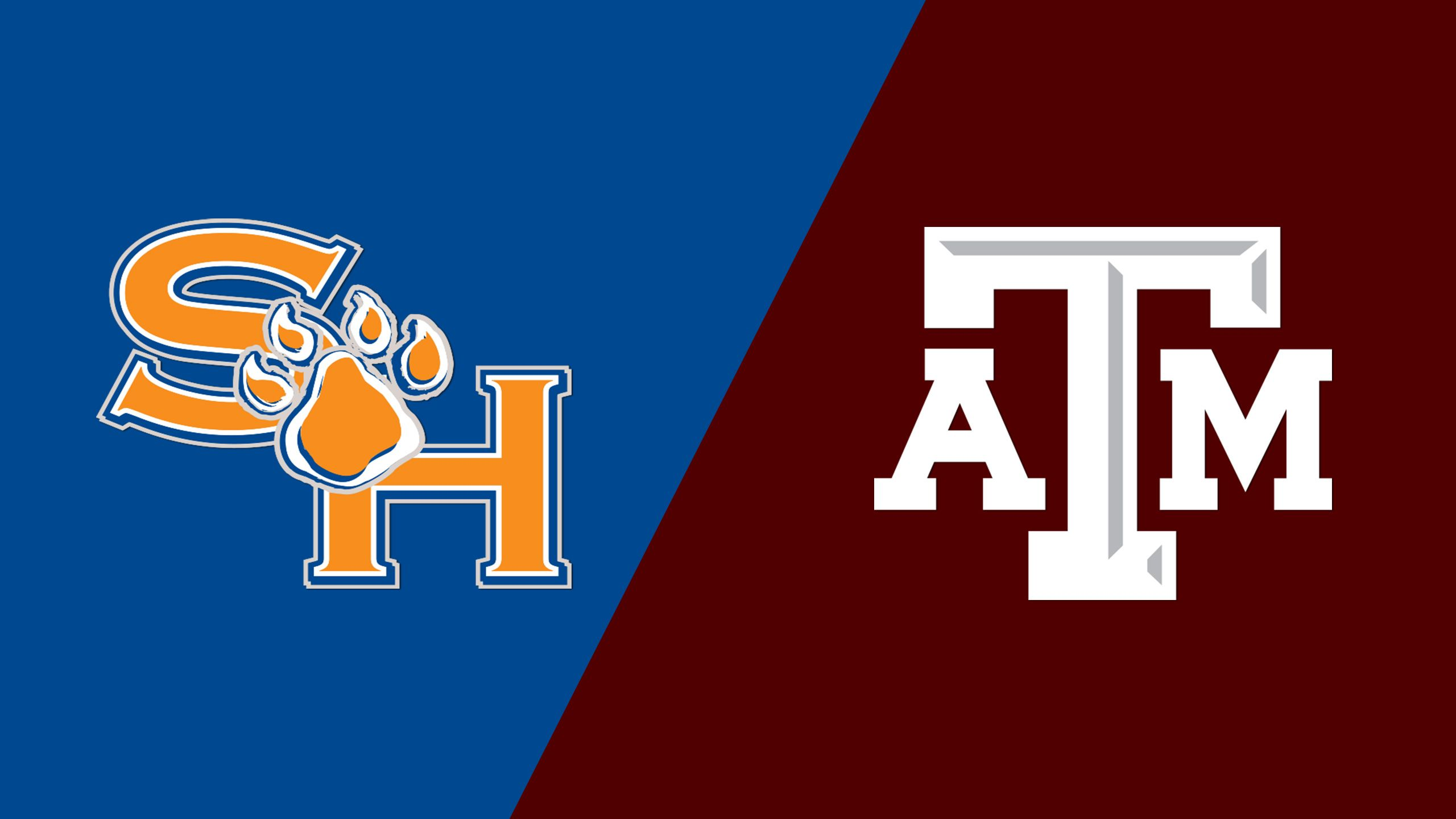 Sam Houston State vs. Texas A&M (Baseball)
