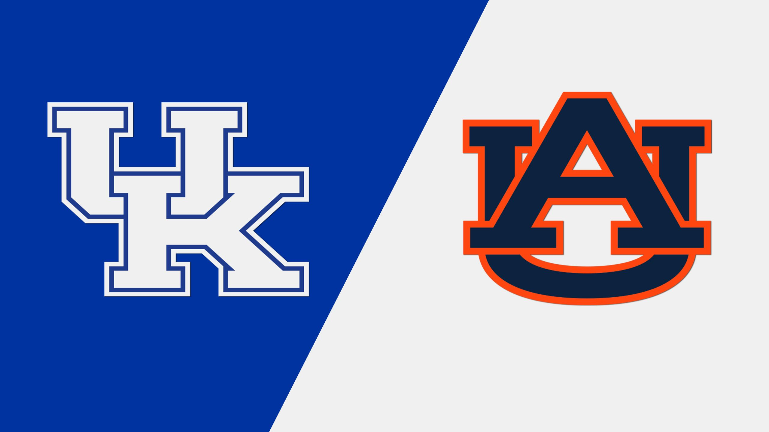 Kentucky vs. #21 Auburn (First Round) (SEC Baseball Tournament)