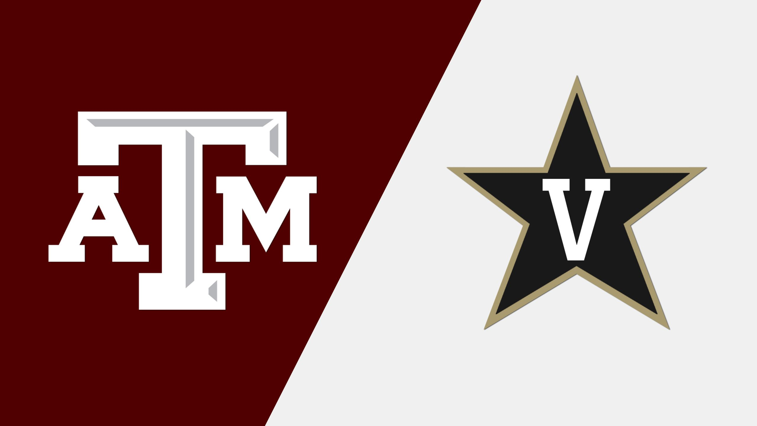 Texas A&M vs. Vanderbilt (First Round) (SEC Baseball Tournament)