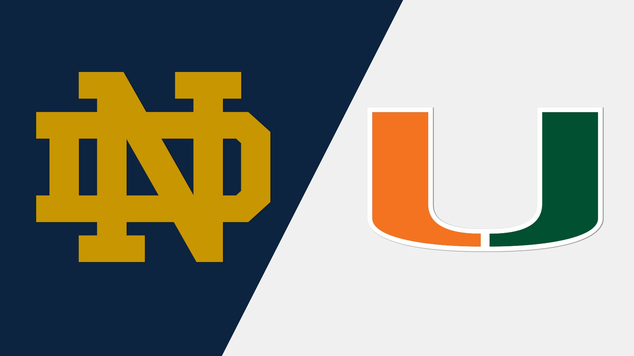 Notre Dame vs. Miami (Game 3) (ACC Baseball Championship)