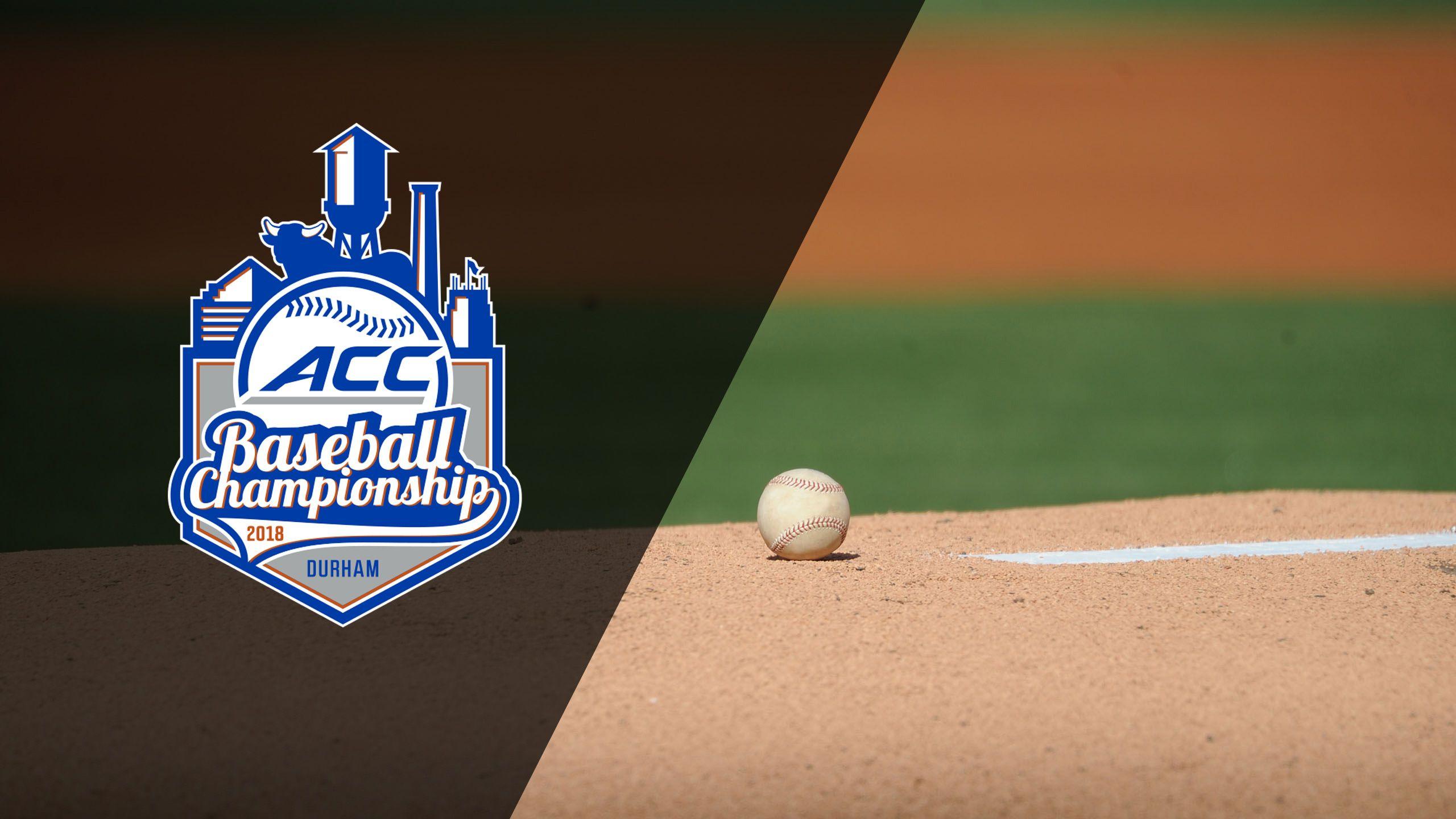 ACC Baseball Tournament Press Conference