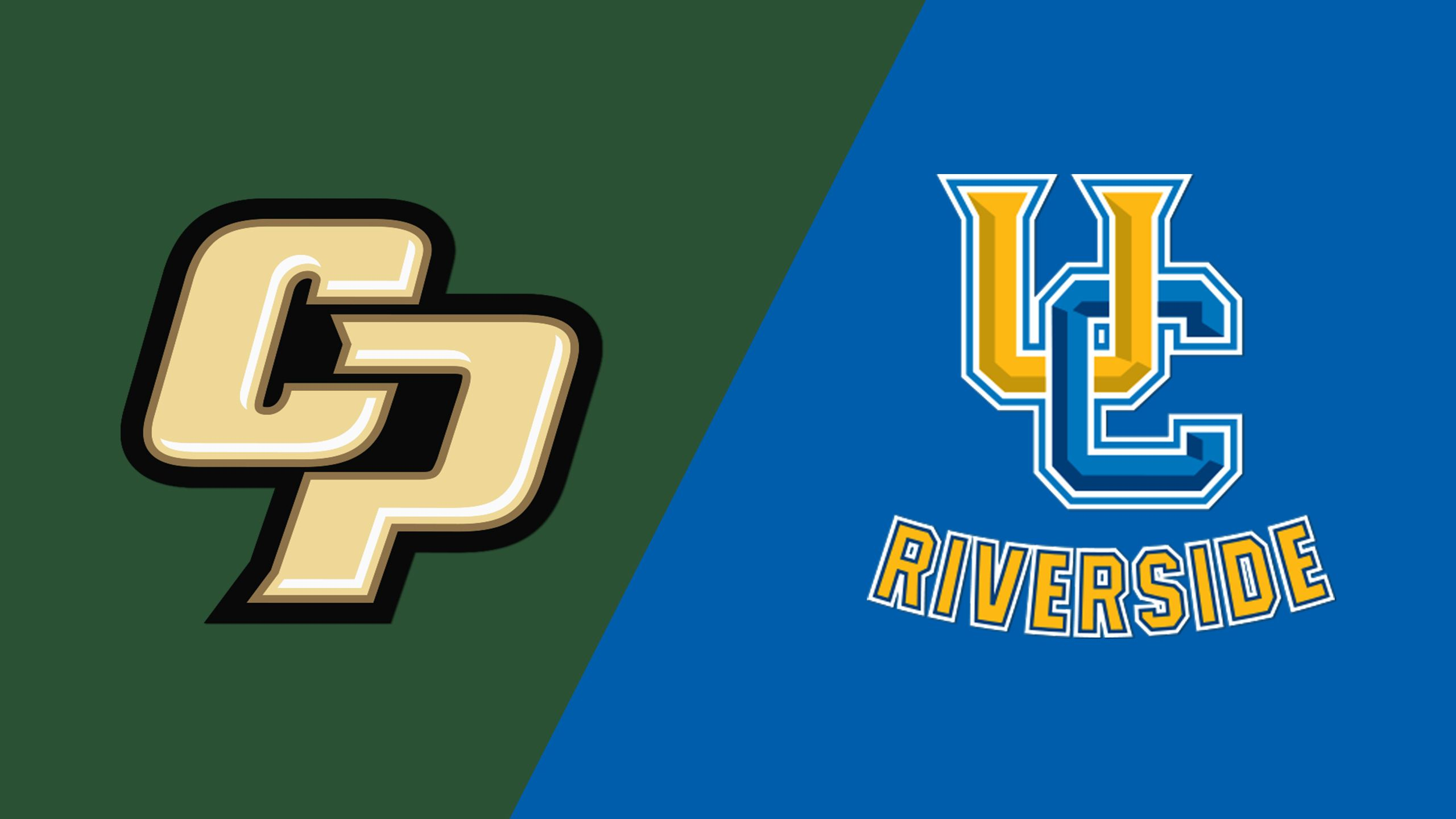 Cal Poly vs. UC Riverside (Baseball)