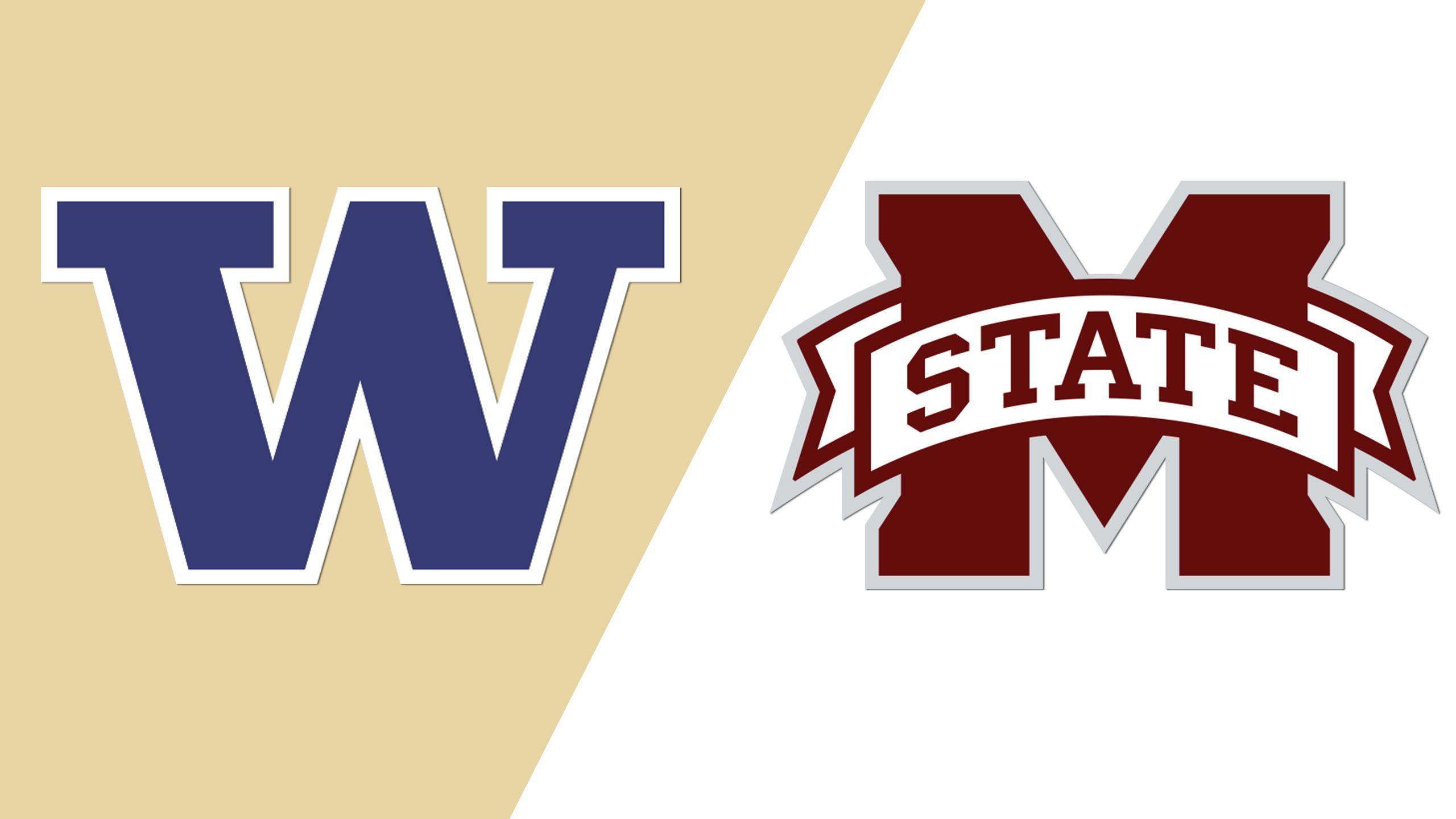 Washington vs. Mississippi State (Game 2) (College World Series)
