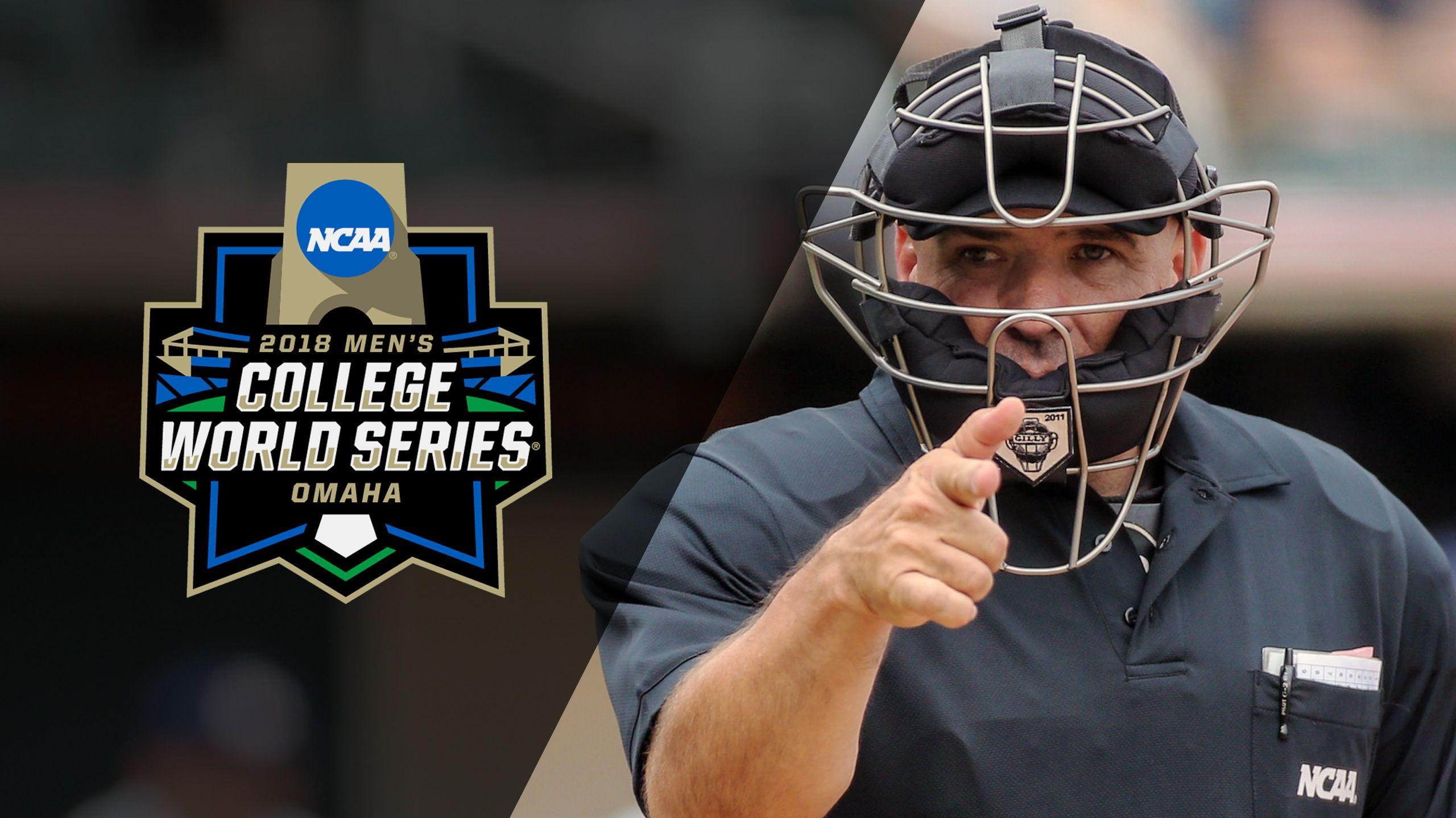 Ump Cam - #1 Florida vs. #13 Texas (Game 7) (College World Series)