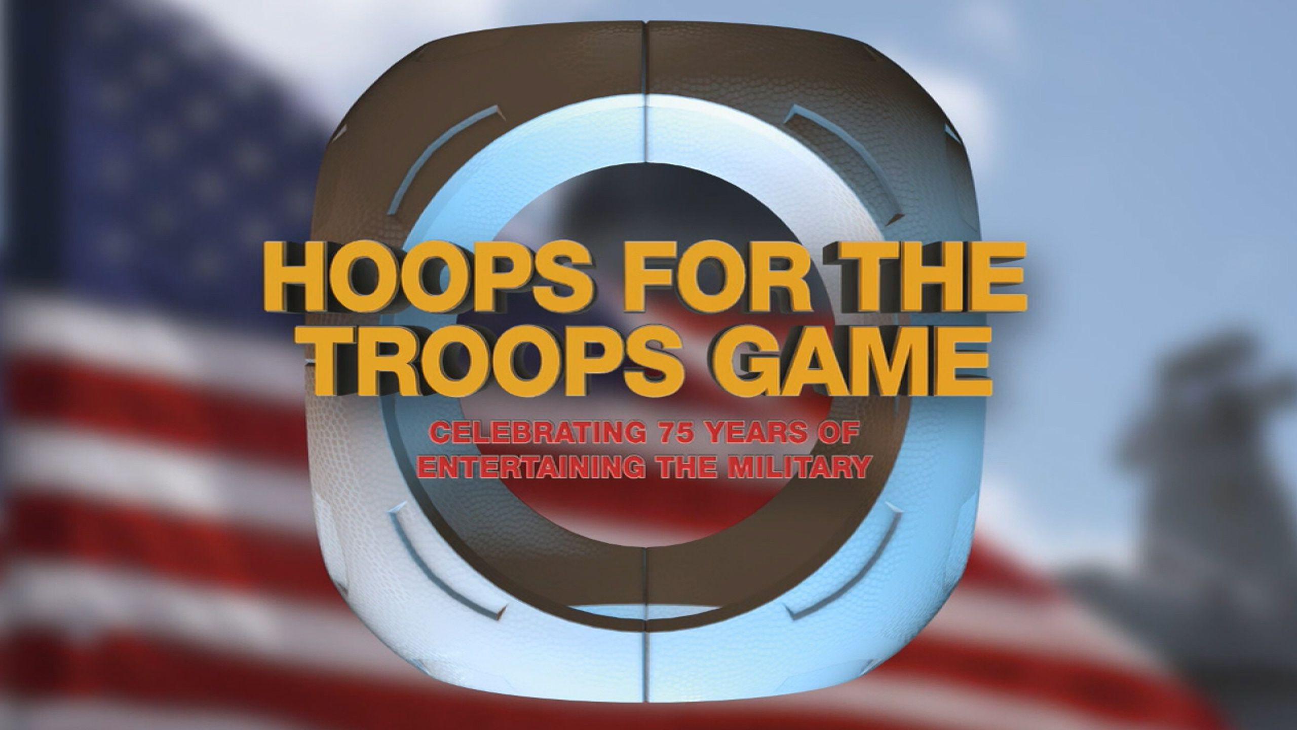 Harlem Globetrotters Hoops for the Troops Game