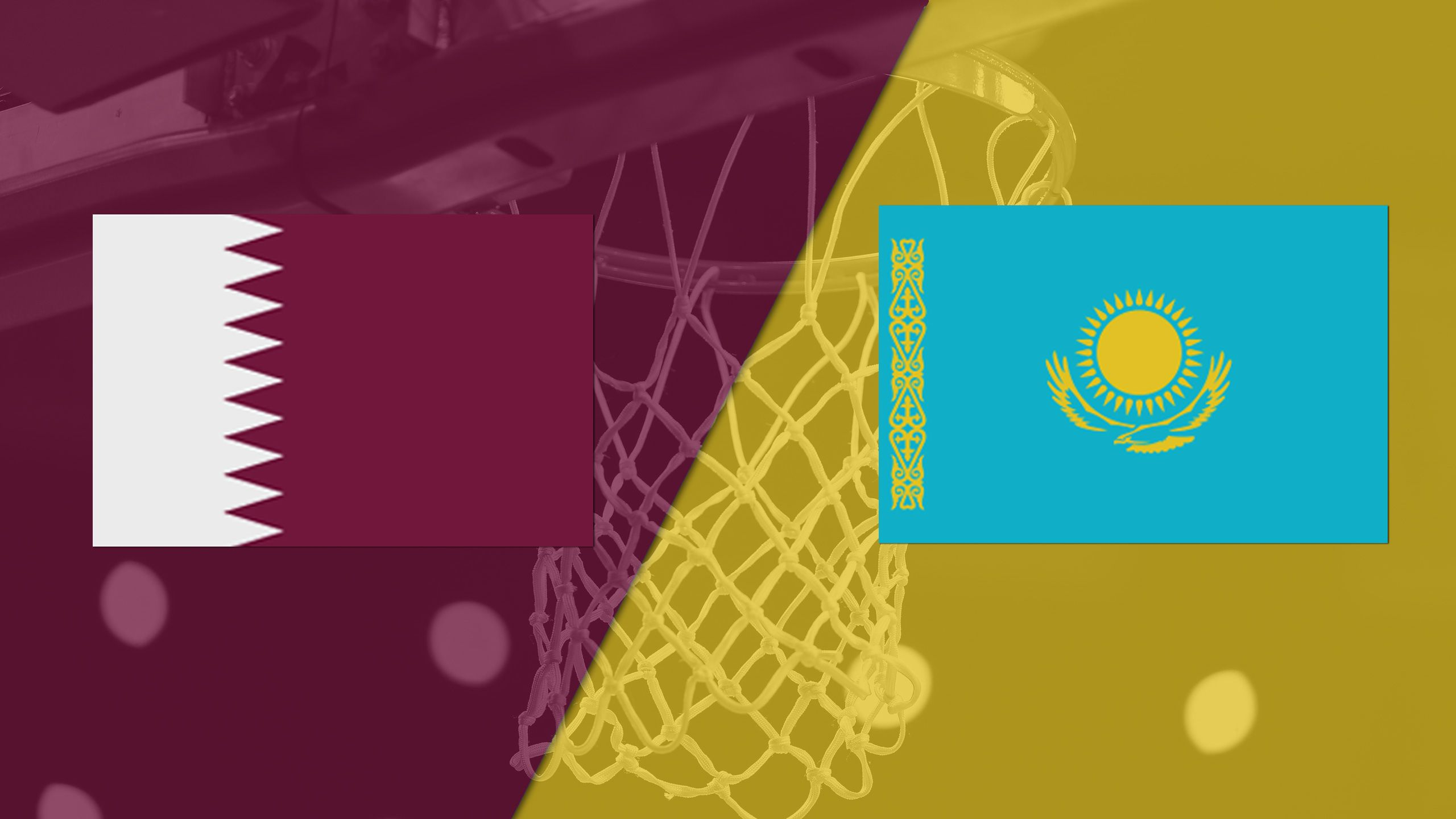 Qatar vs. Kazakhstan (FIBA World Cup 2019 Qualifier)