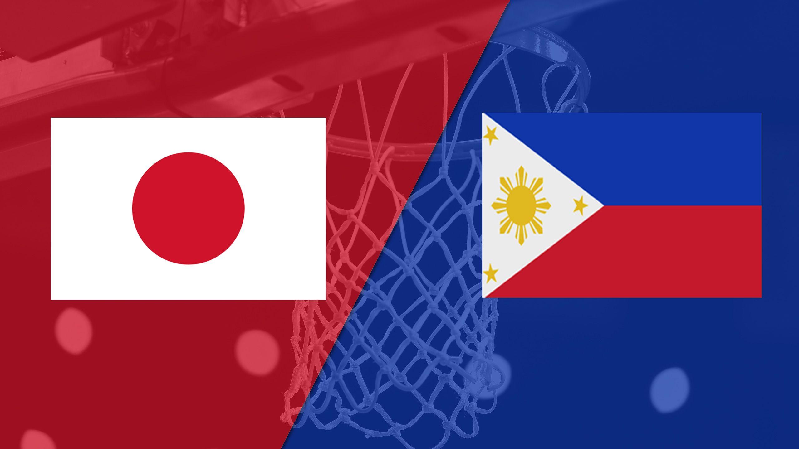 Japan vs. Philippines (FIBA World Cup 2019 Qualifier)