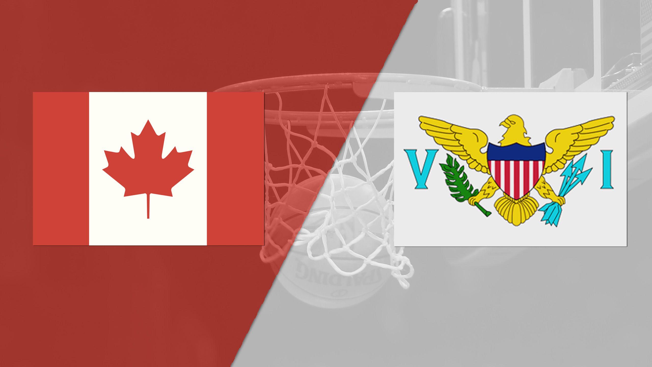 Canada vs. Virgin Islands (FIBA World Cup 2019 Qualifier)