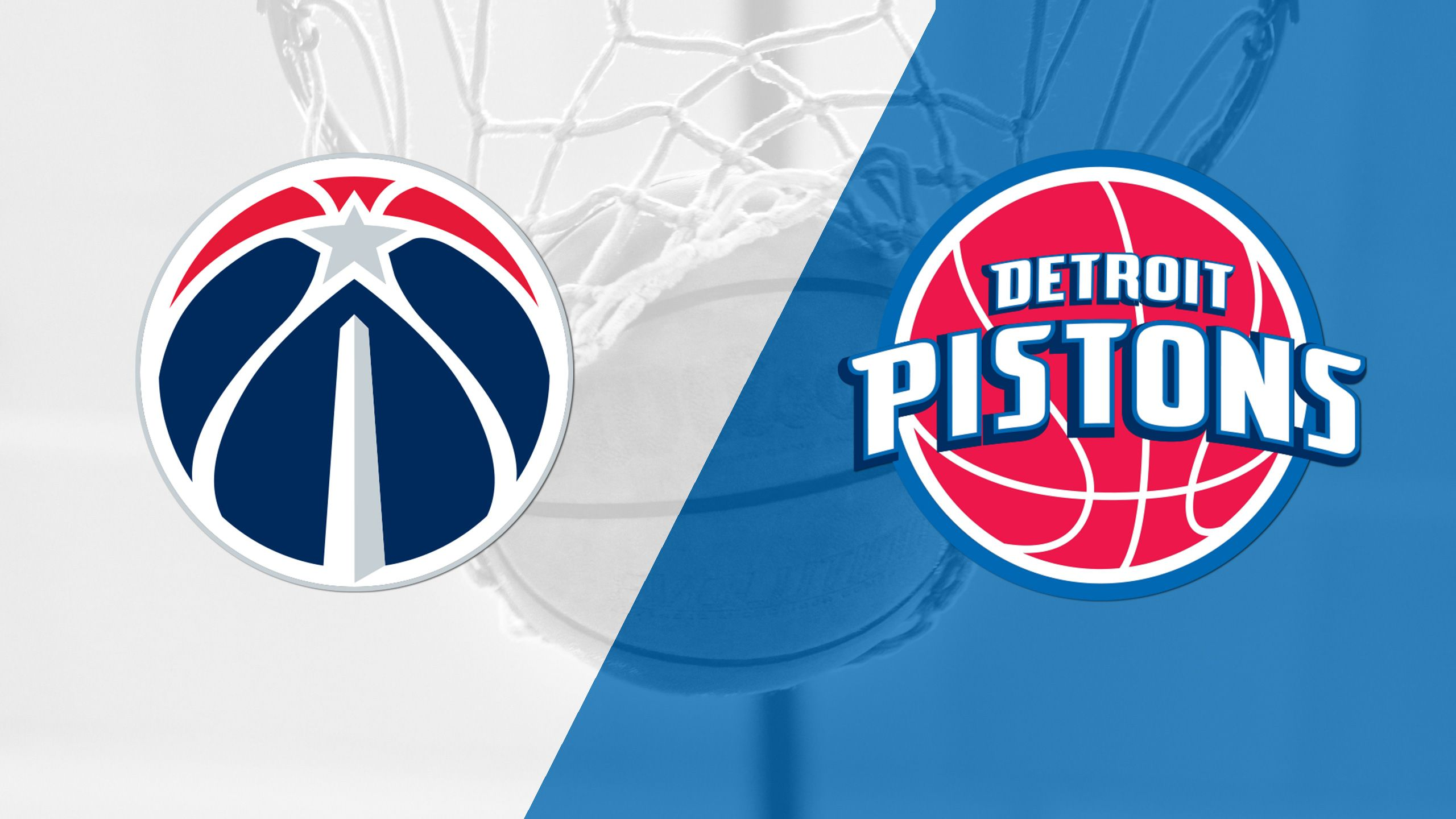 In Spanish - Washington Wizards vs. Detroit Pistons
