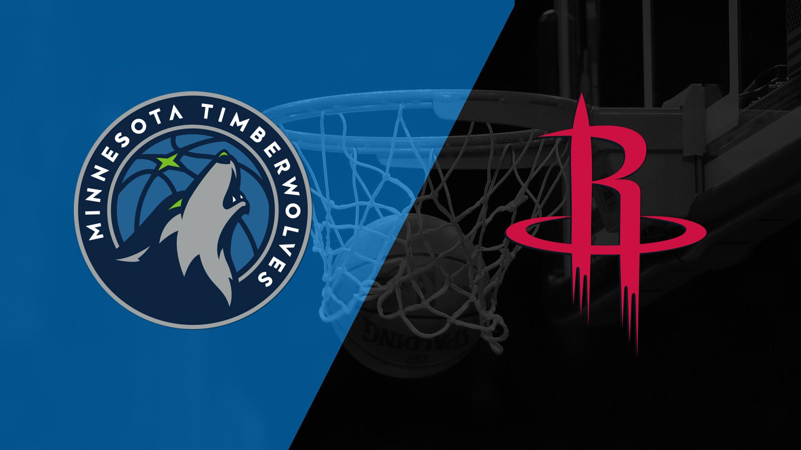 In Spanish - Minnesota Timberwolves vs. Houston Rockets
