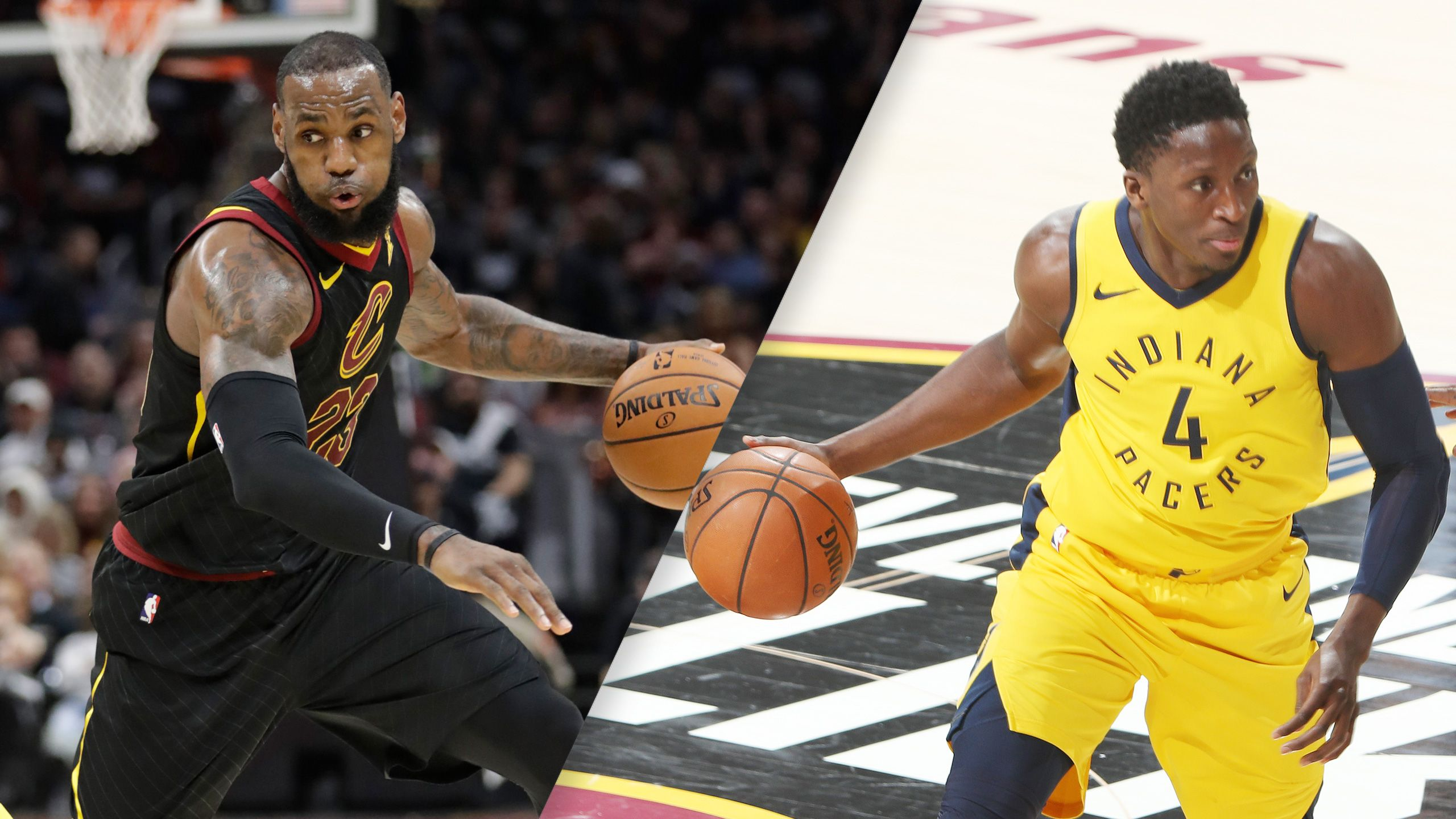 Cleveland Cavaliers vs. Indiana Pacers (First Round, Game 3) (re-air)