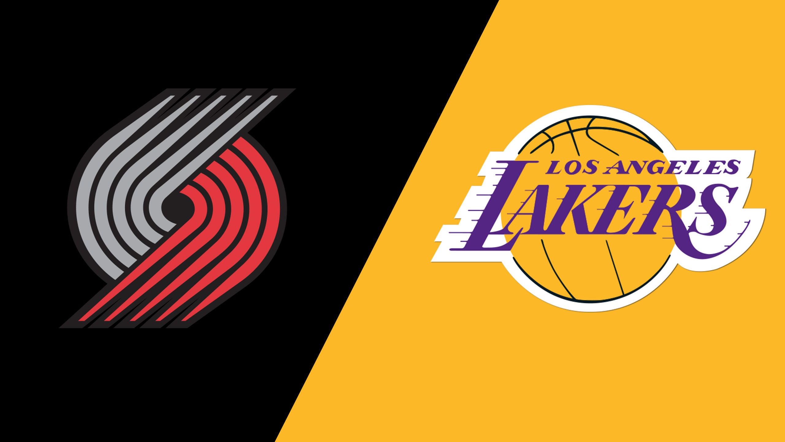 Portland Trail Blazers vs. Los Angeles Lakers (Championship)