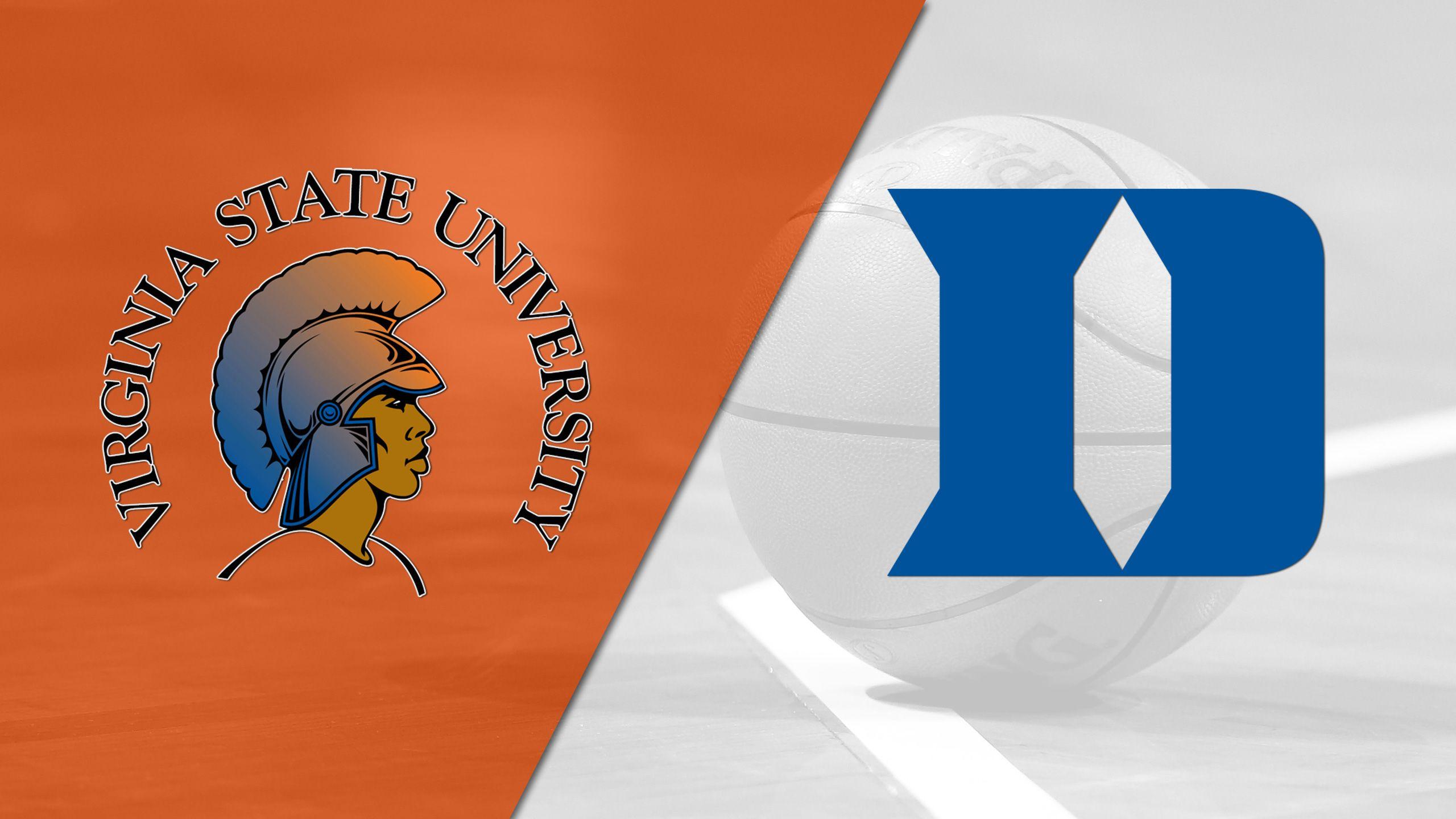 Virginia State vs. Duke (M Basketball)