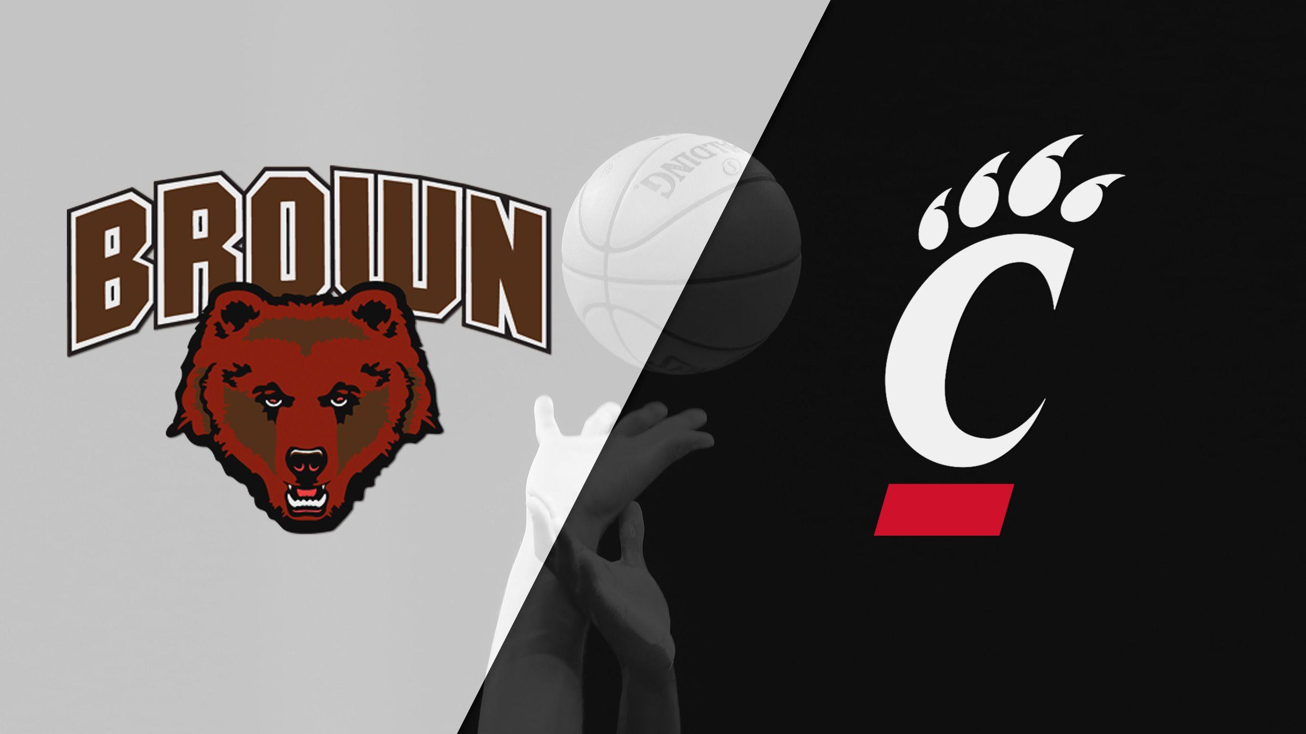 Brown vs. Cincinnati (M Basketball)