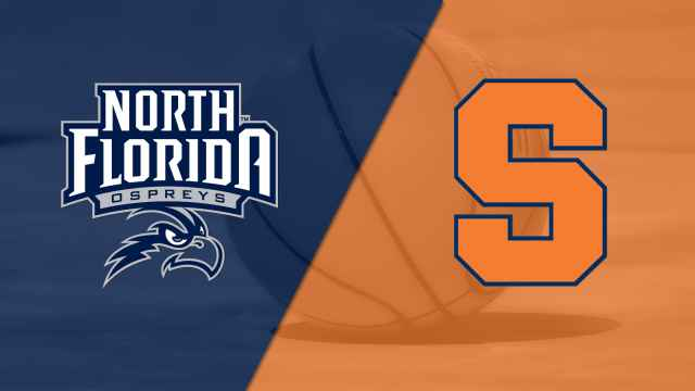 North Florida vs. #22 Syracuse (M Basketball)