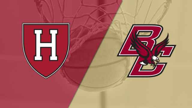 Harvard vs. Boston College (M Basketball)