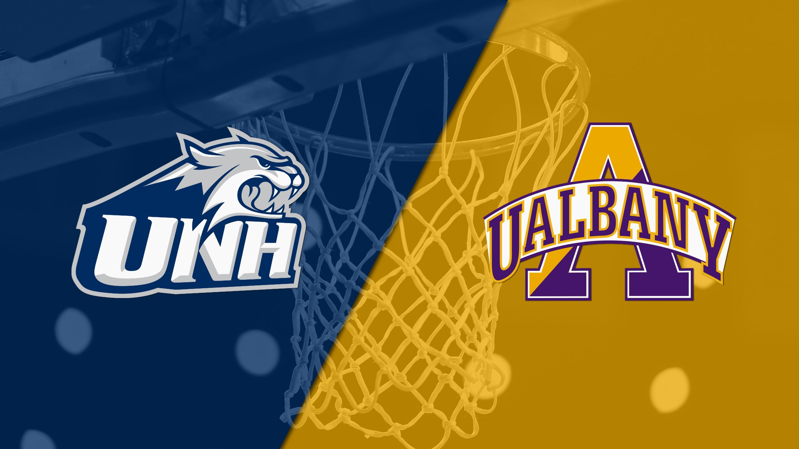 New Hampshire vs. Albany (M Basketball)