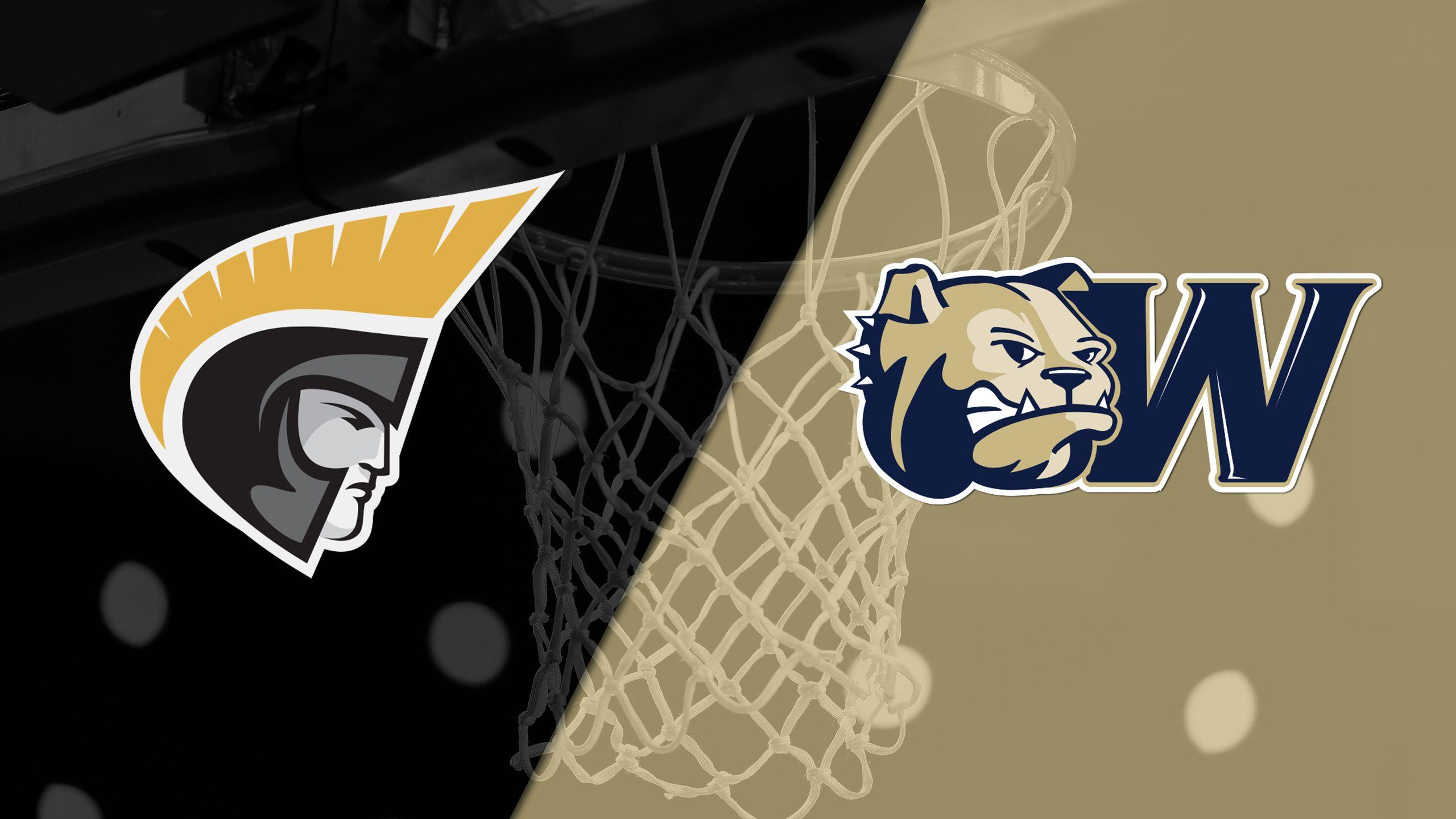 Anderson vs. Wingate (M Basketball)