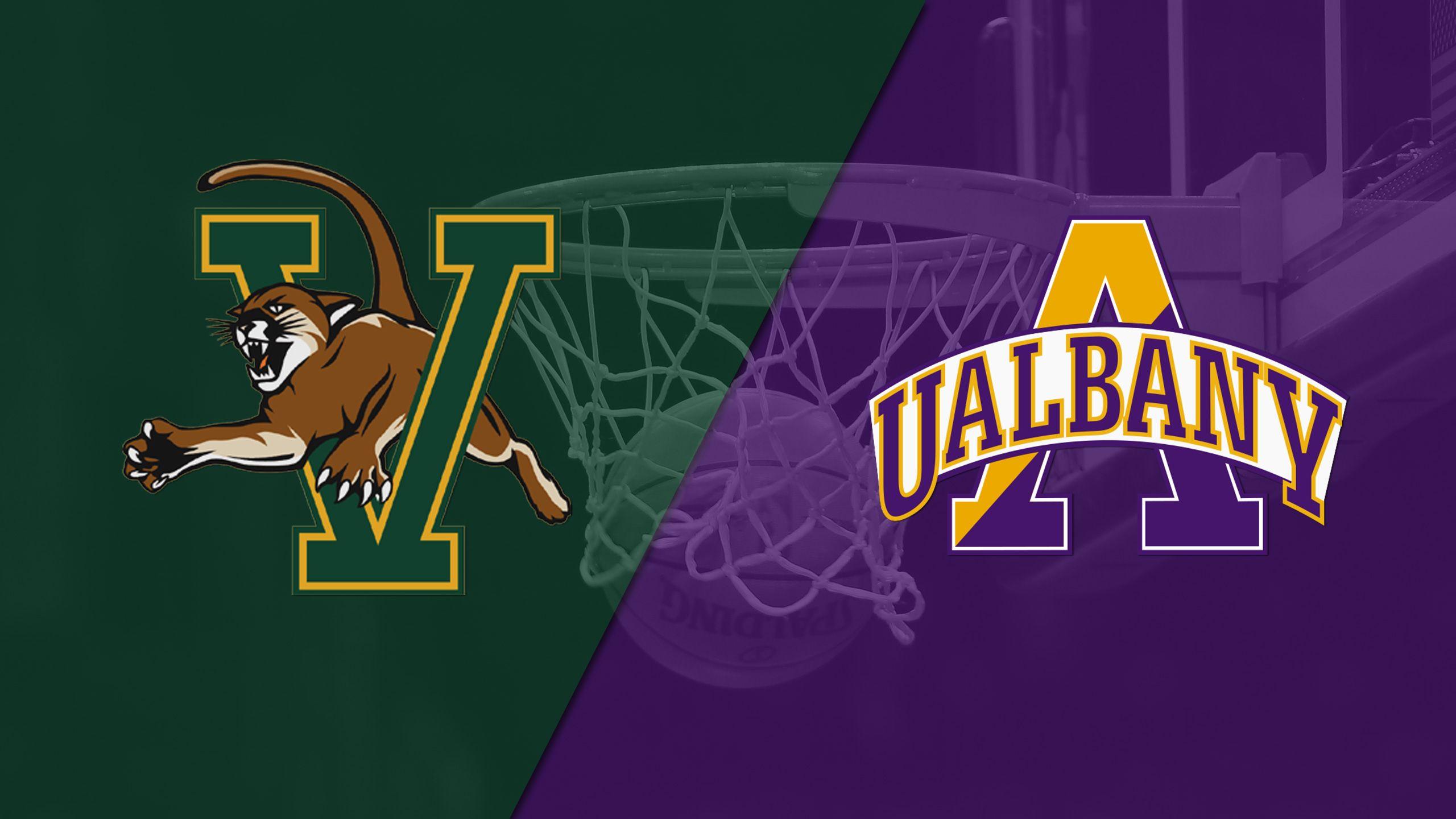 Vermont vs. Albany (M Basketball)