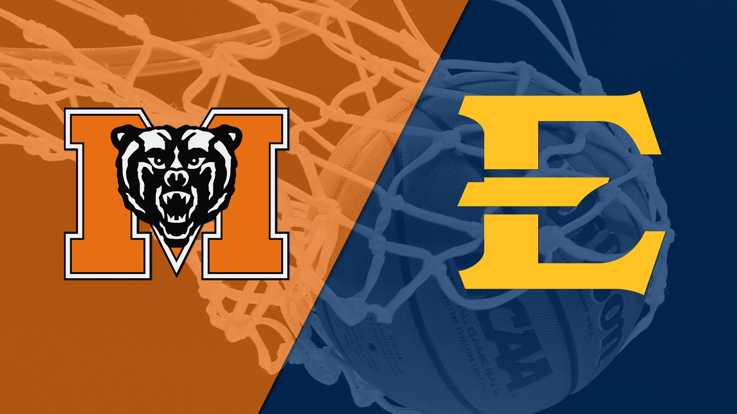 Mercer vs. East Tennessee State (Quarterfinal #4) (SoCon Men's Championship)