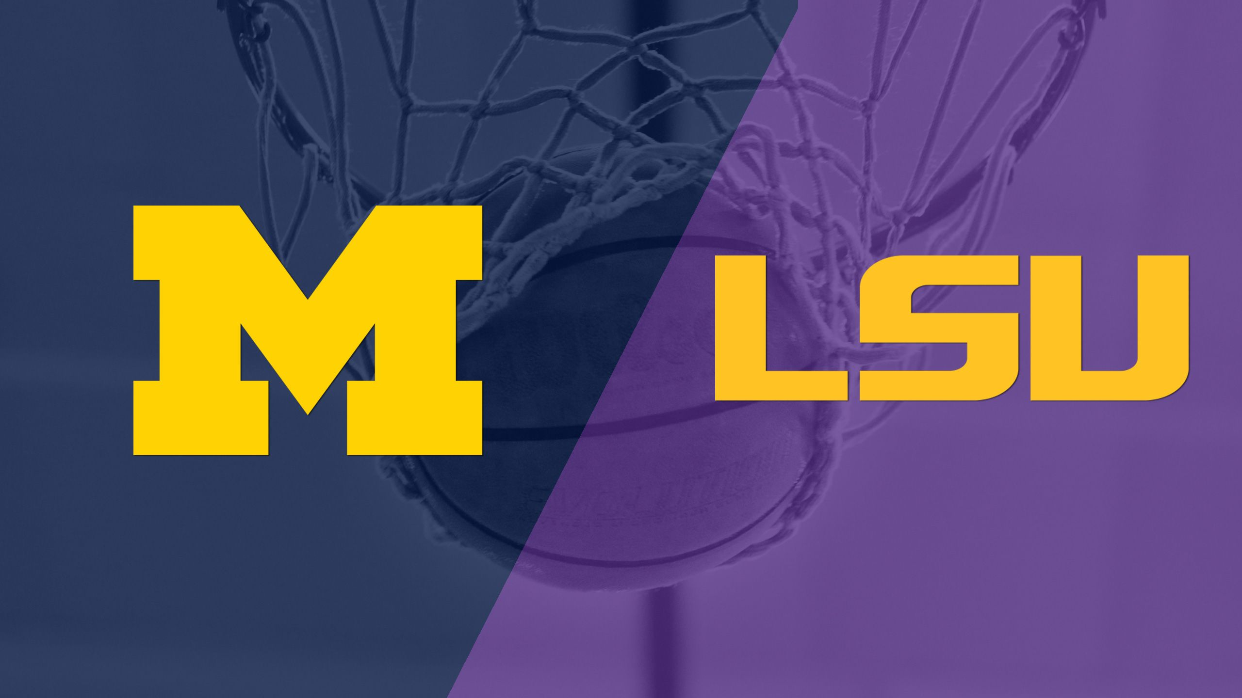 Michigan vs. LSU (Quarterfinal #4) (Maui Invitational)