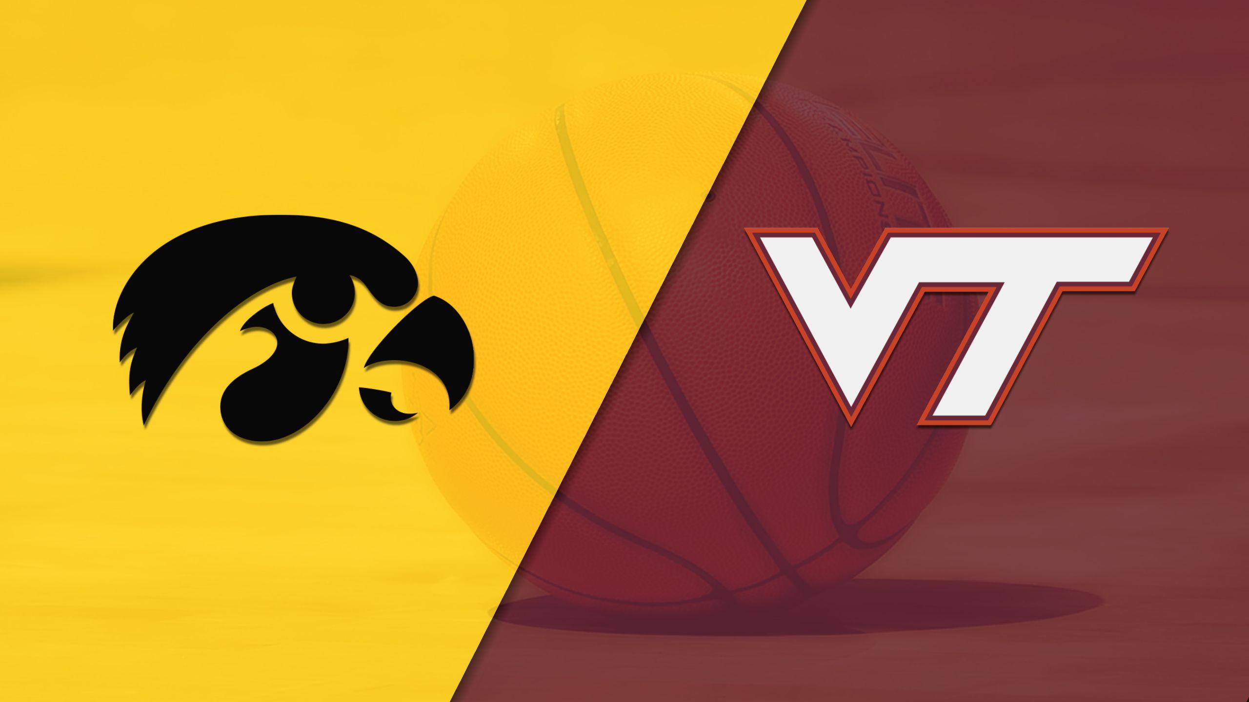 Iowa vs. Virginia Tech (M Basketball)