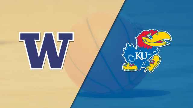 Washington vs. #2 Kansas (M Basketball)