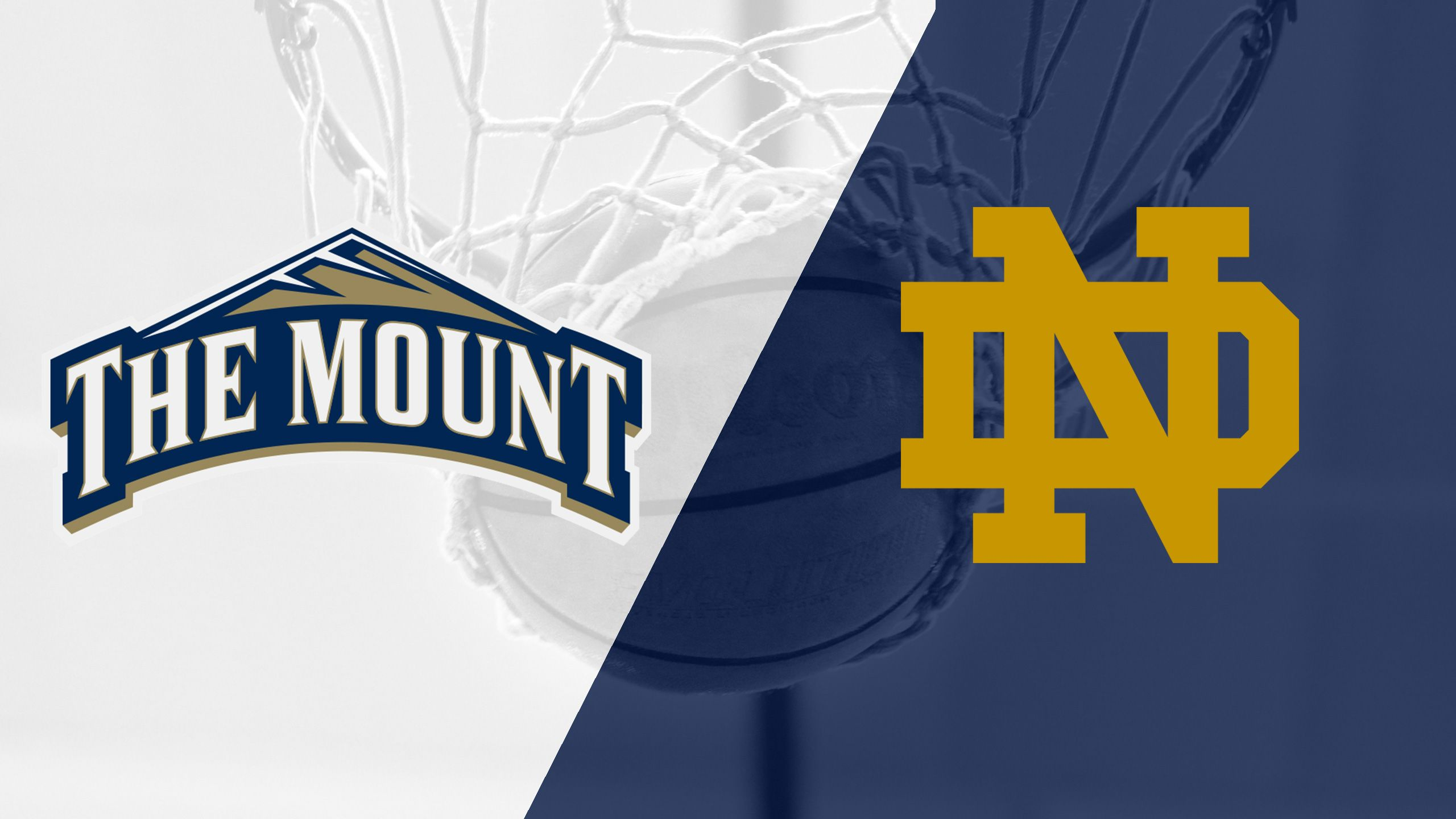 MT St Mary's vs. #13 Notre Dame (M Basketball)